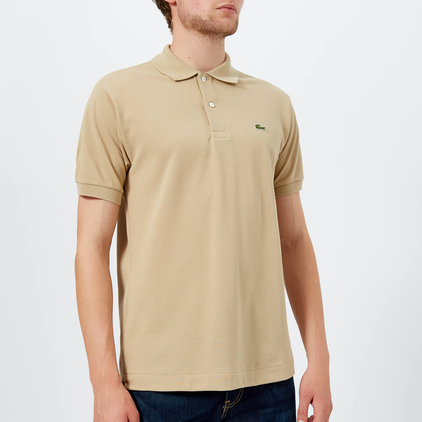 c5b3486c830d7 Lacoste Men s Classic Fit Polo Shirt - Viennese Camel - Free UK Delivery  over £50