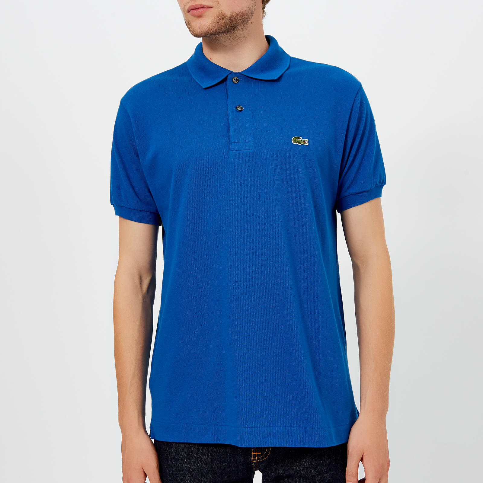 55bdbb7cc0 Lacoste Men's Classic Fit Polo Shirt - Electric
