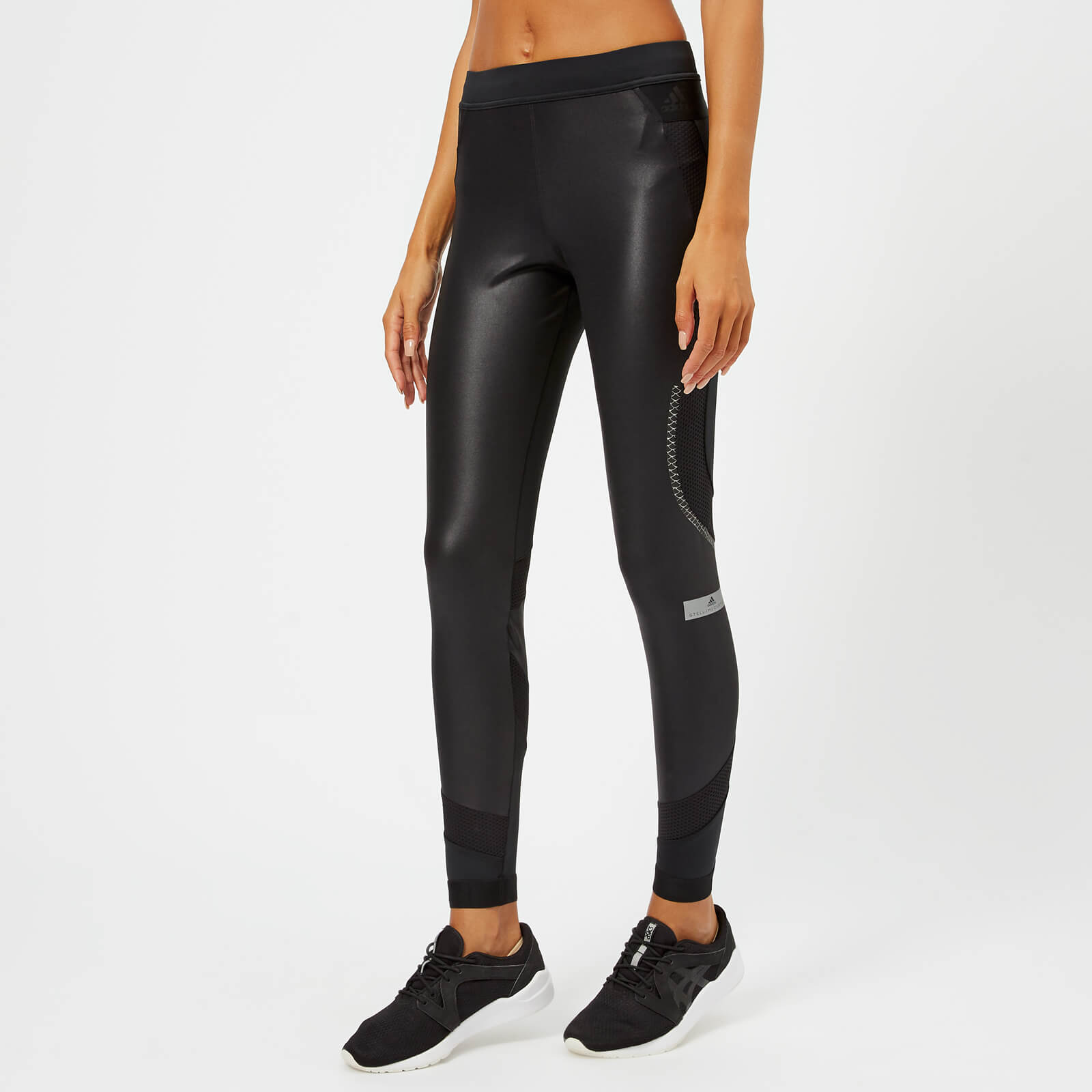f735c25cceeeb3 adidas by Stella McCartney Women's Run Long Tights - Black - Free UK  Delivery over £50