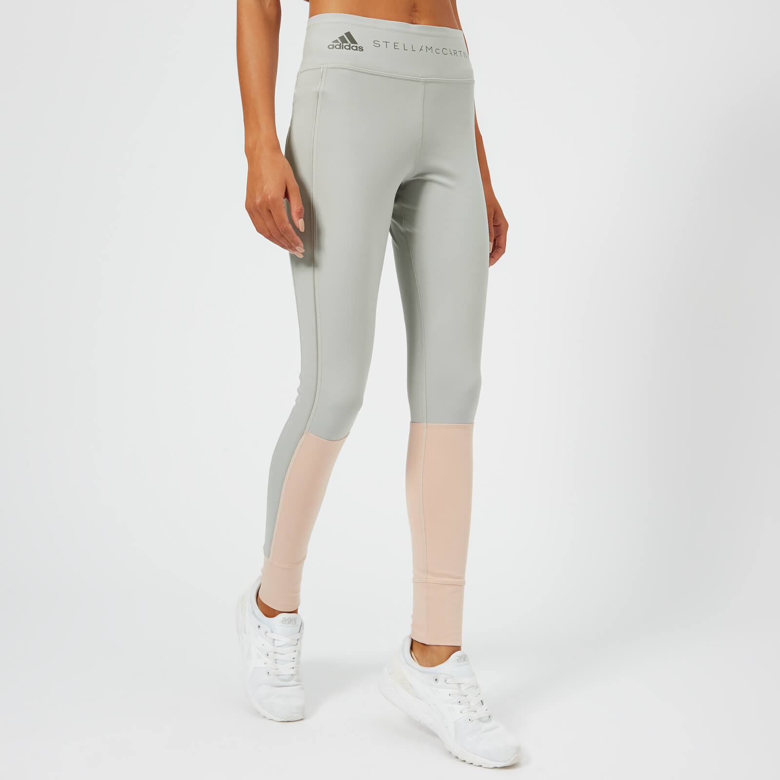 d8feb68fe0ea6 adidas by Stella McCartney Women's Yoga Comfort Tights - Pearl Rose/Stone -  Free UK Delivery over £50