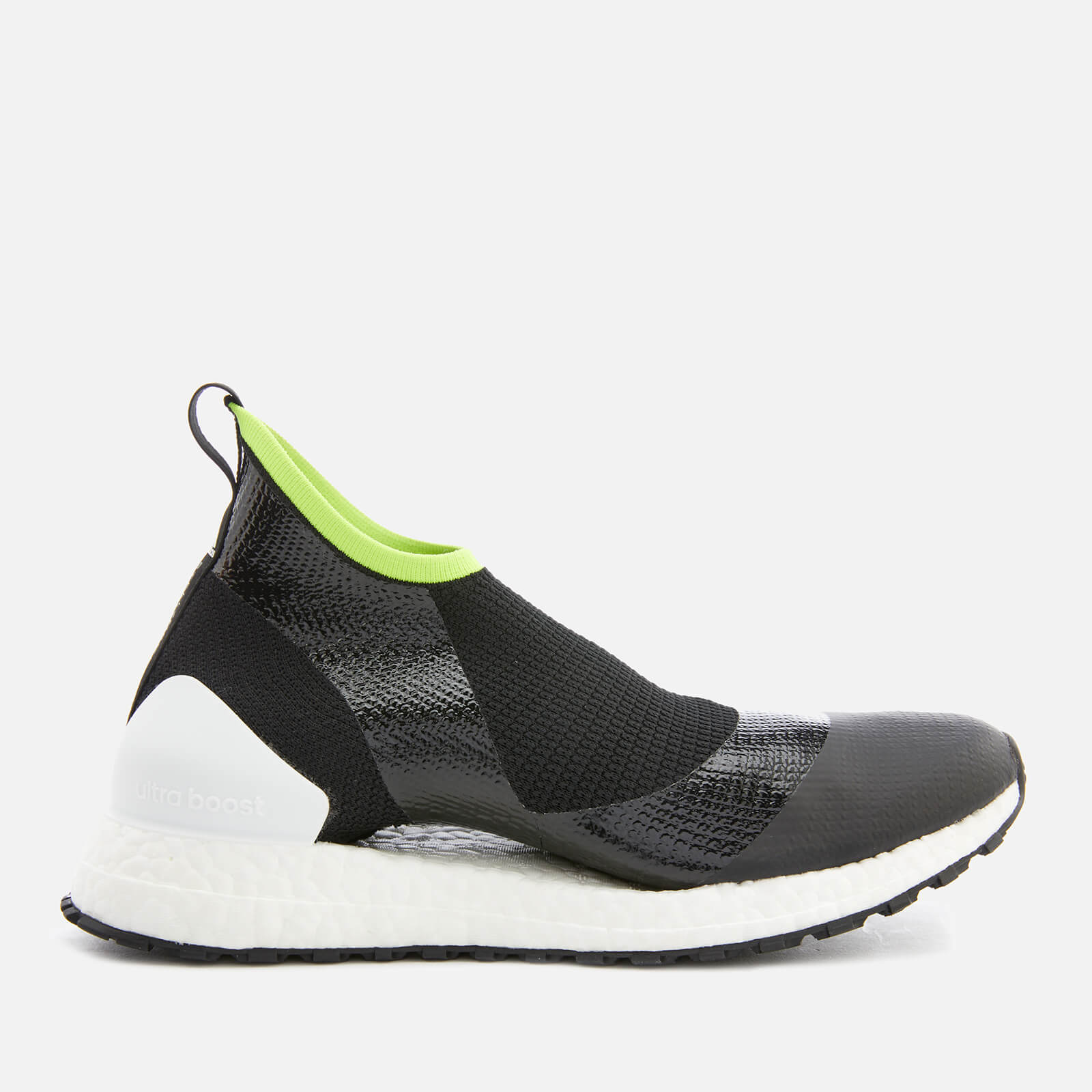 fb01f6fc3fa37 adidas by Stella McCartney Women s Ultraboost X All TerrainTrainers - Core  Black White Solar Slime - Free UK Delivery over £50