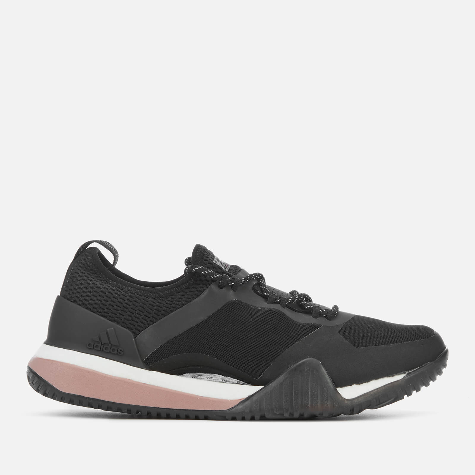 adidas by Stella McCartney Women s Pure Boost X TR 3.0 Trainers - Core Black  Pink Maroon - Free UK Delivery over £50 ad9d1699b