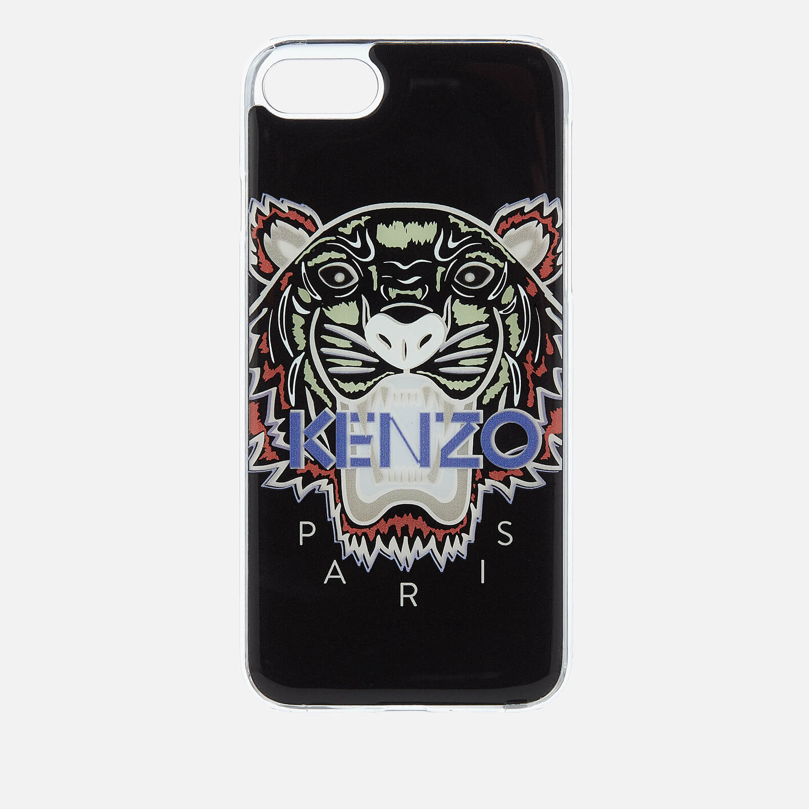 detailed pictures 6fc30 f668b KENZO Men's Tiger Silicone iPhone 7/8 Case - Black