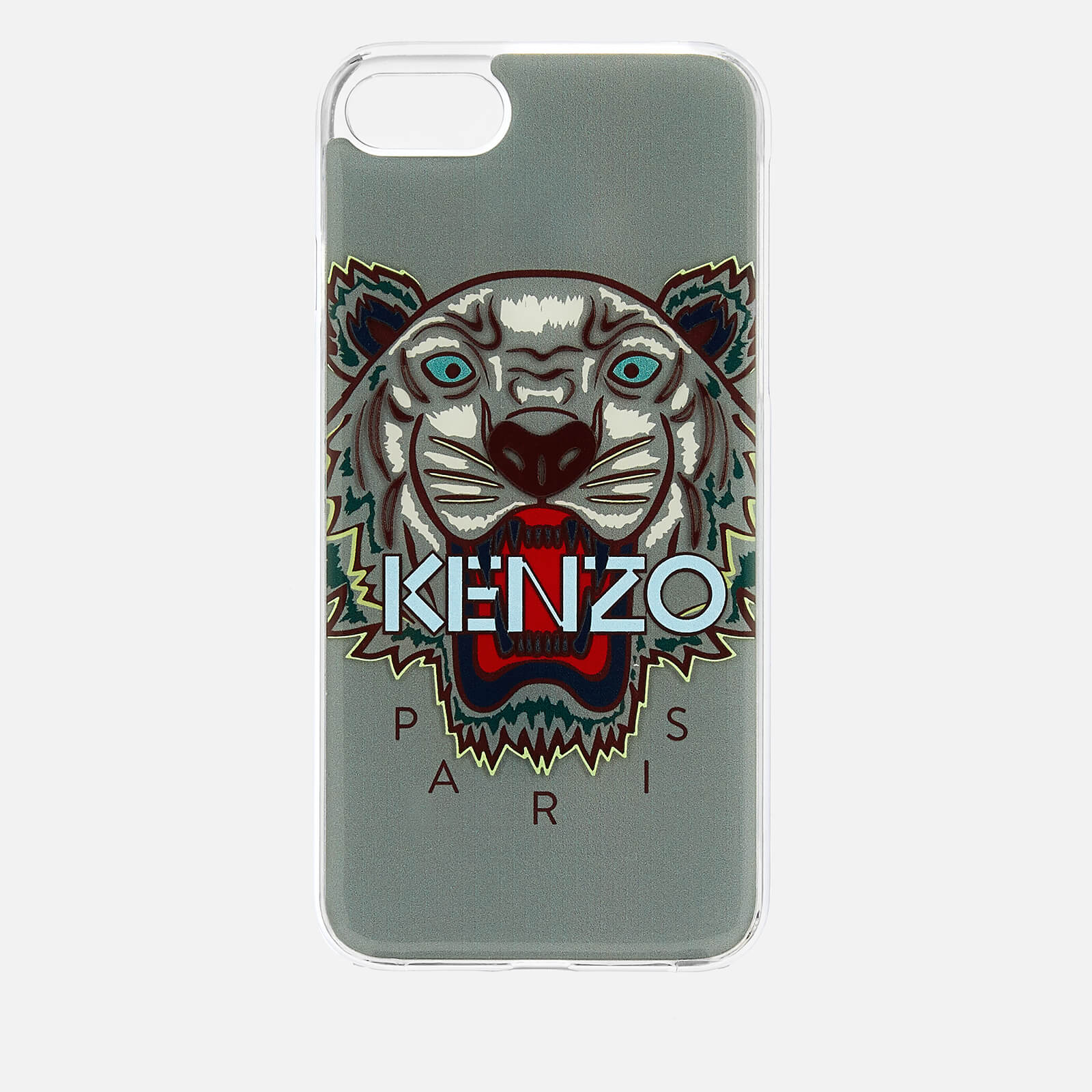 buy online 9aa55 68ace KENZO Men's Tiger Silicone iPhone 7/8 Case - Pale Grey