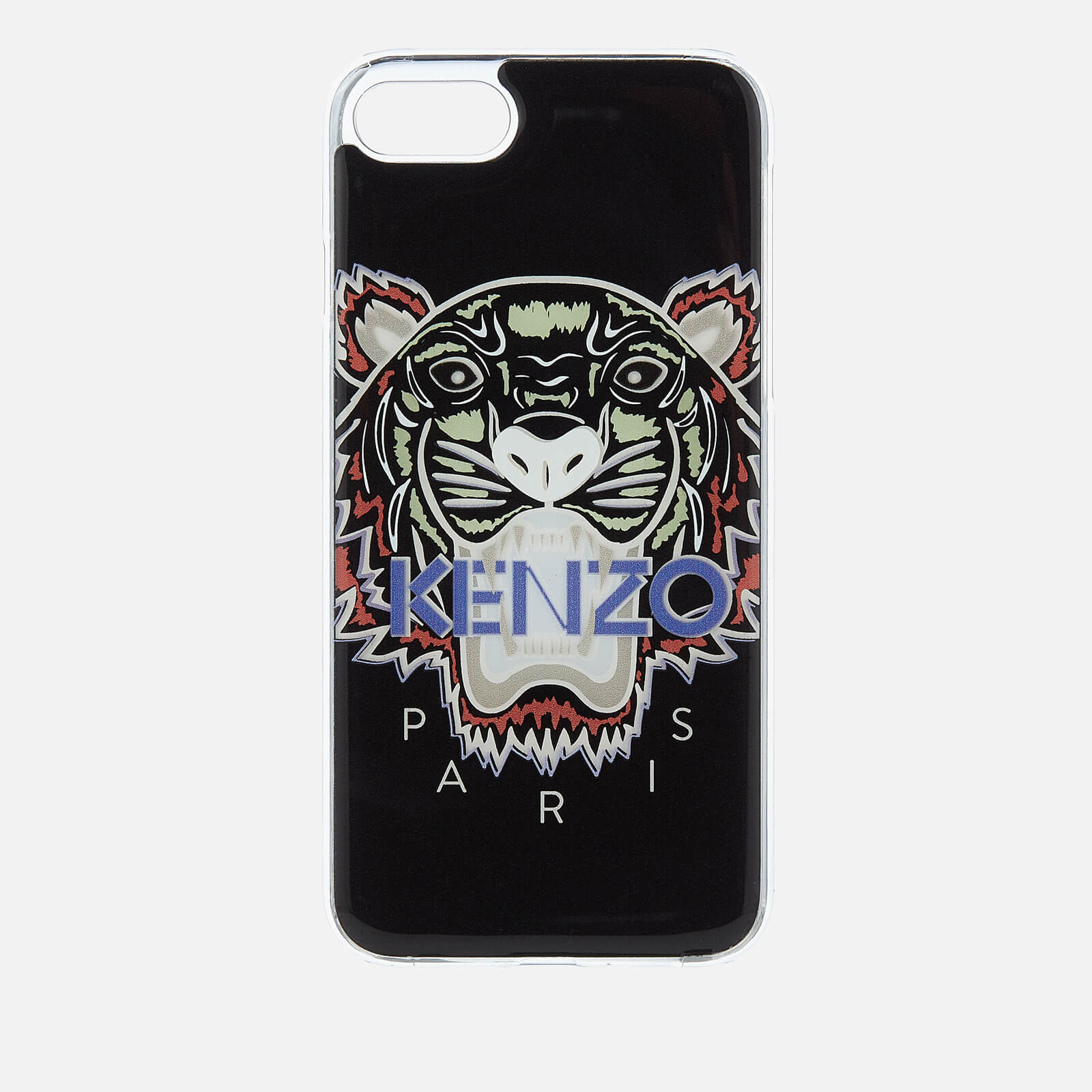 online store db4c7 9e323 KENZO Men's Tiger Silicone iPhone 7 Plus/8 Plus Case - Black