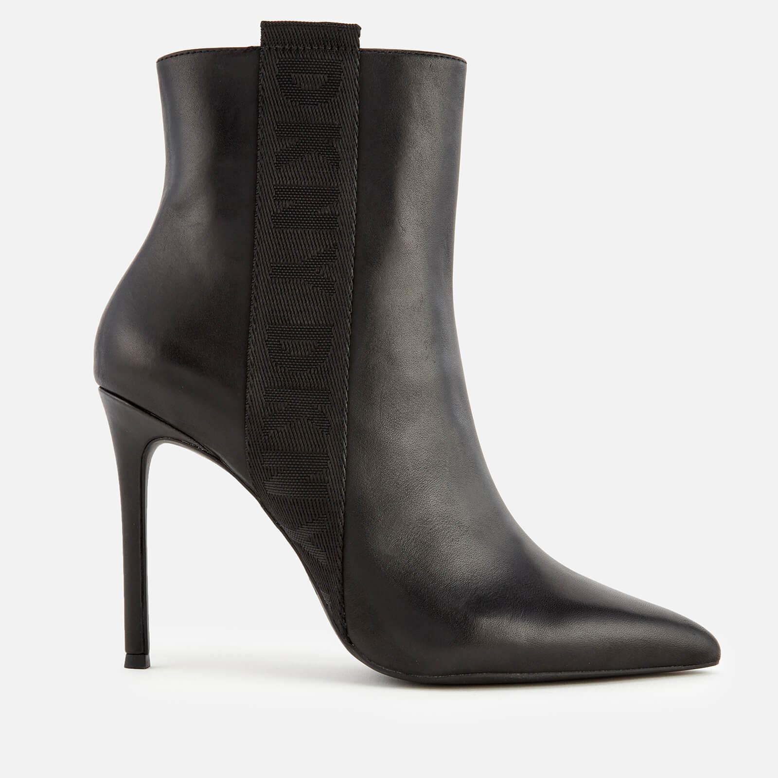 5157a46d1 DKNY Women's Ranita Heeled Shoe Boots - Black | FREE UK Delivery | Allsole