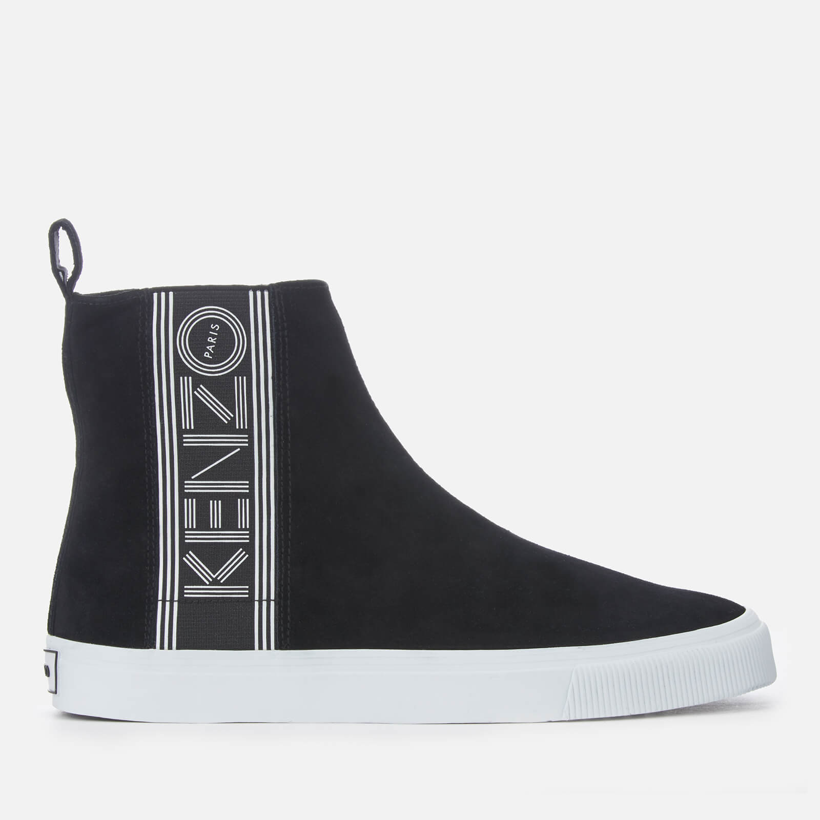 688a5c7c8e KENZO Men's Kapri Suede High Top Trainers - Black
