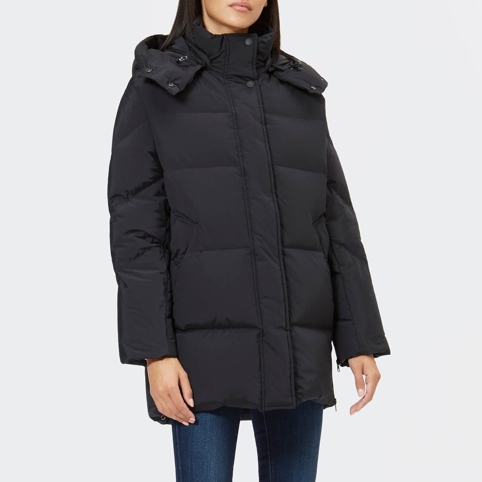 separation shoes 84fc8 e1ddb Woolrich Women's Aurora Puffy Coat - Black