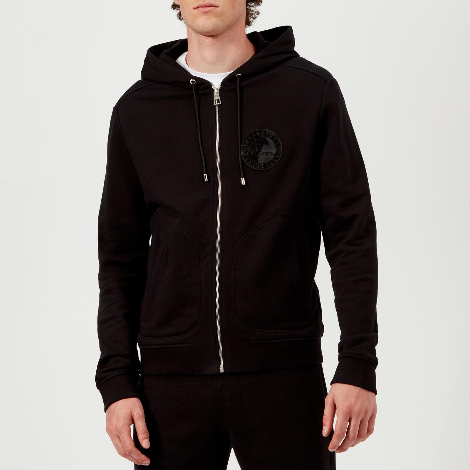071ad3551f Versace Collection Men's Zip Up Hoodie - Black