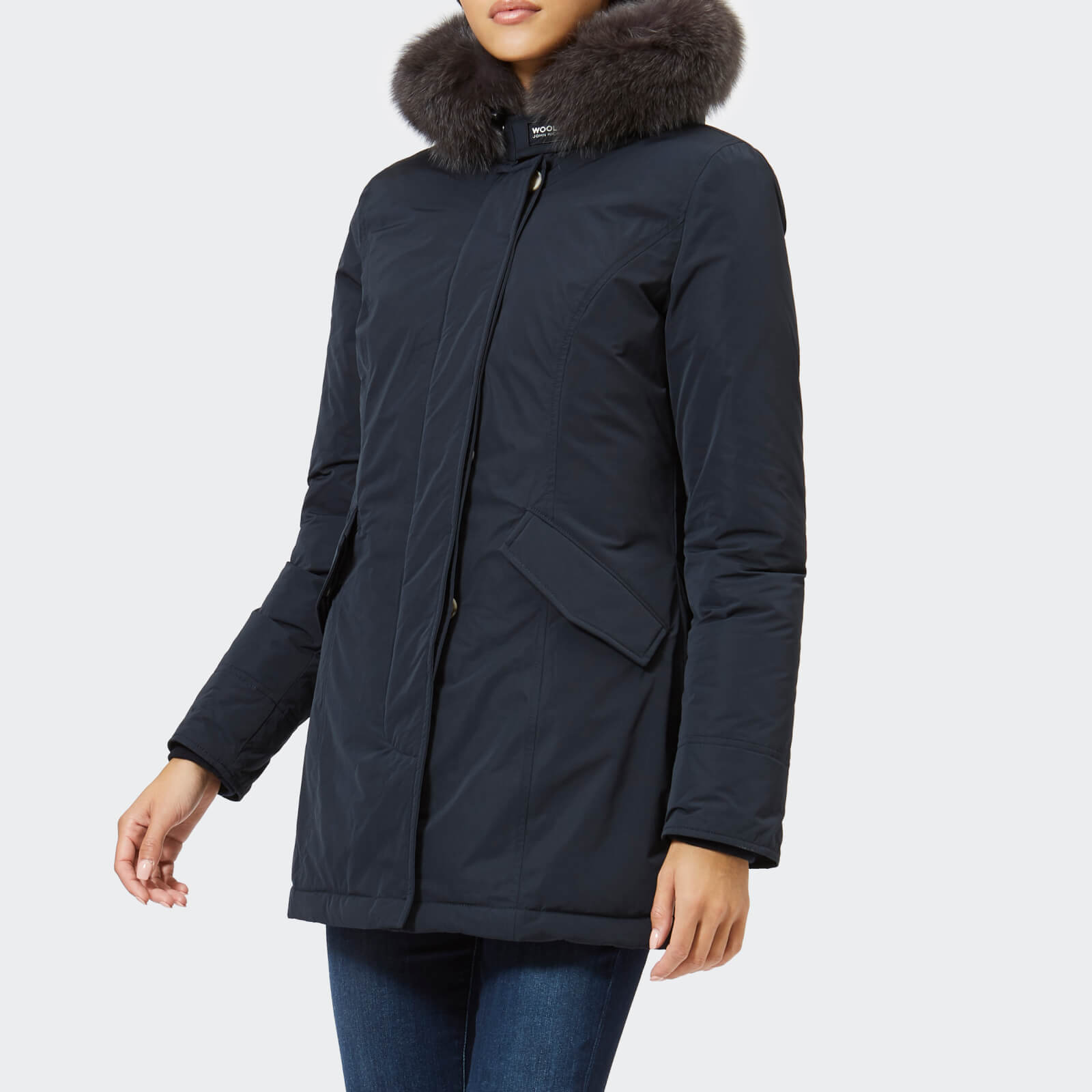 online store e37c3 83583 Woolrich Women's Luxury Arctic Parka - Midnight Navy