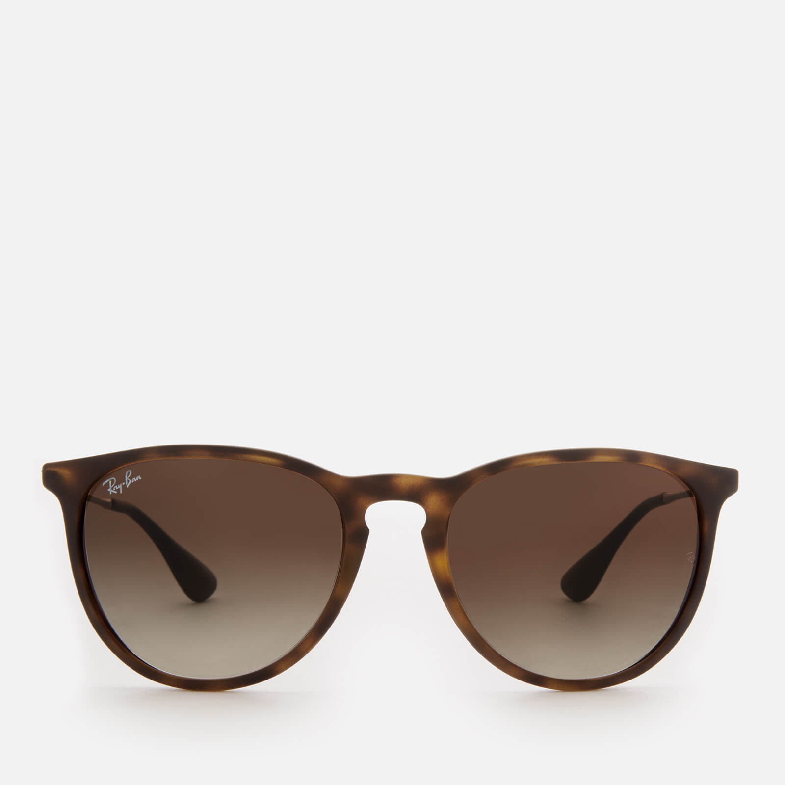 e89017355c450 Ray-Ban Erika Wayfarer Sunglasses - Rubber Havana - Free UK Delivery over  £50