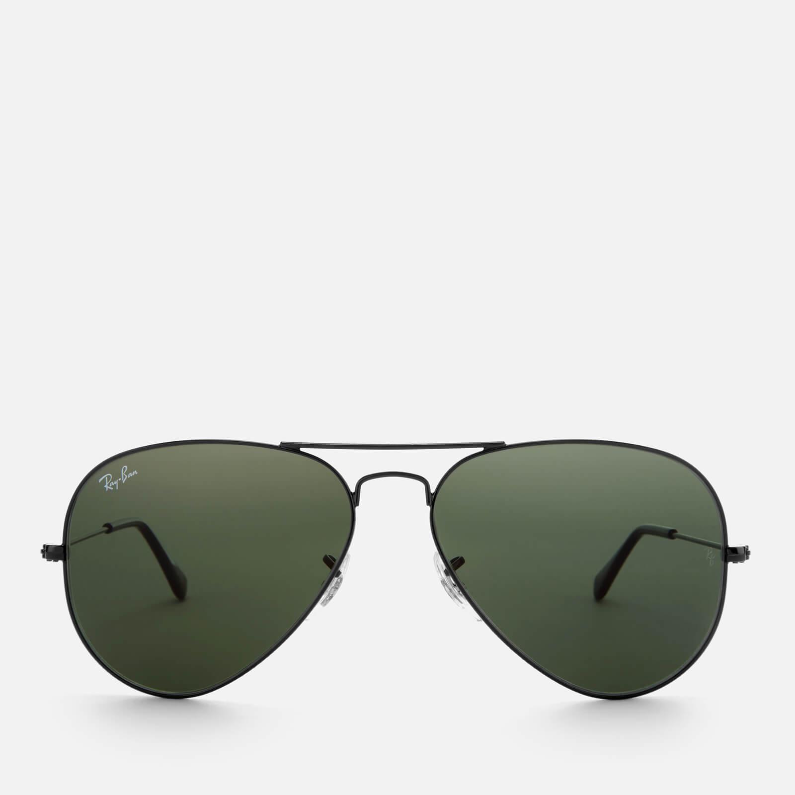 Ray Ban Men S Aviator Metal Frame Sunglasses Black