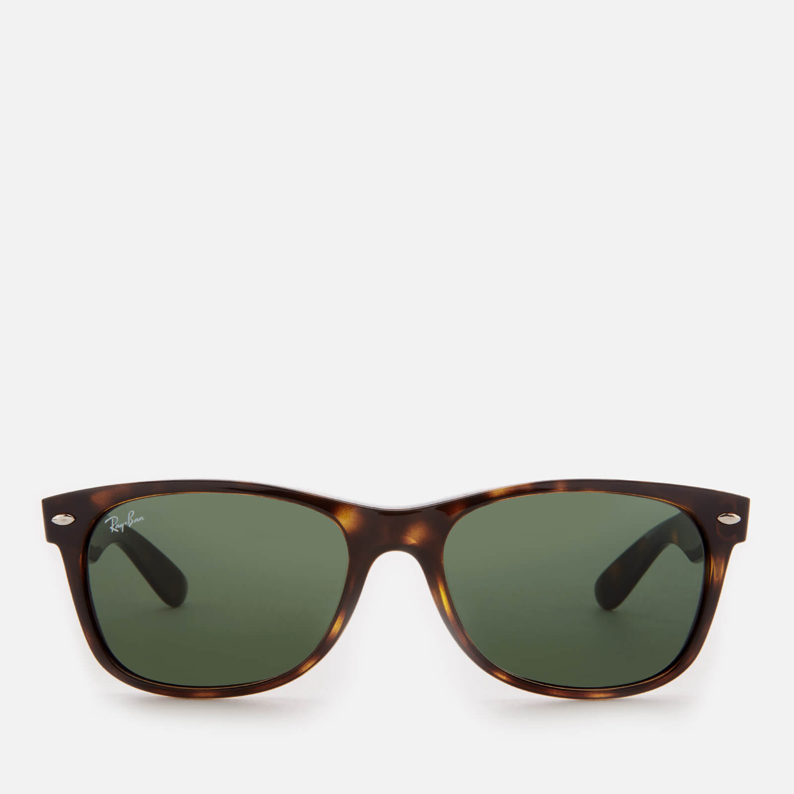 1b84f10571e9e Ray-Ban Men s New Wayfarer Sunglasses - Tortoise - Free UK Delivery over £50