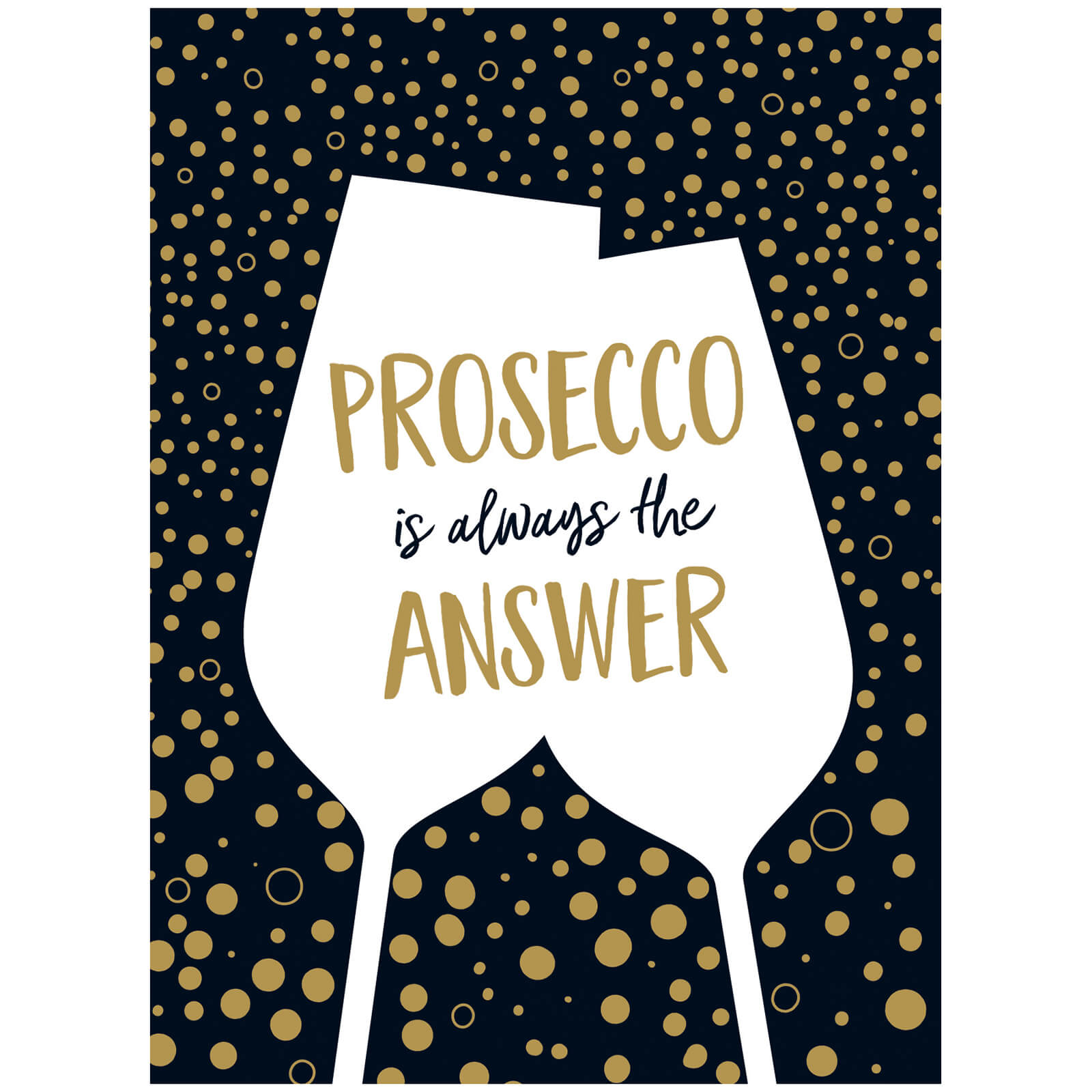 Prosecco Is Always The Answer (Hardback)