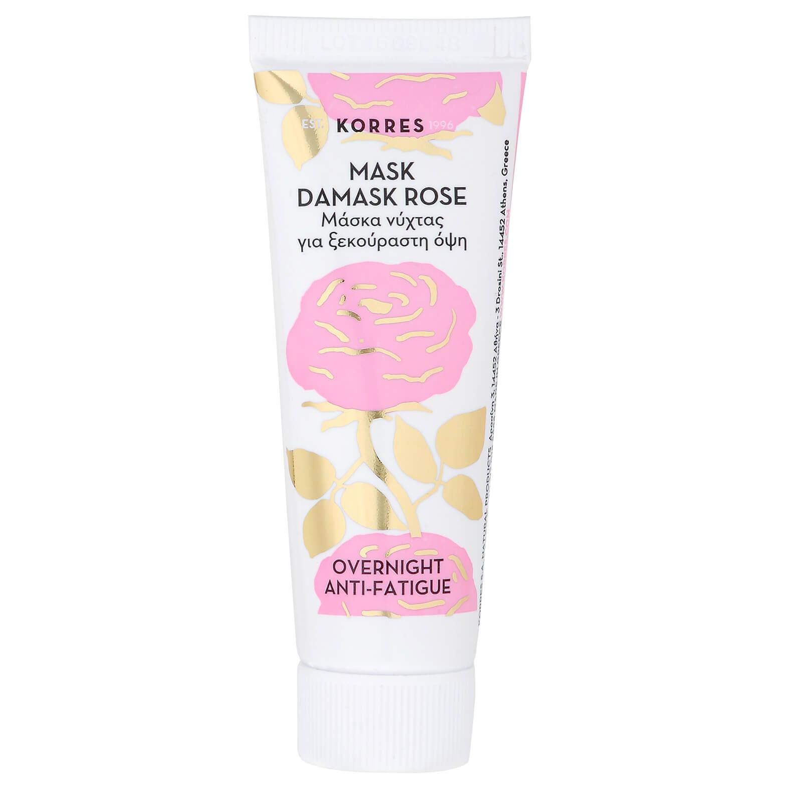 KORRES Natural Damask Rose Overnight Anti-Fatigue Mask 18ml