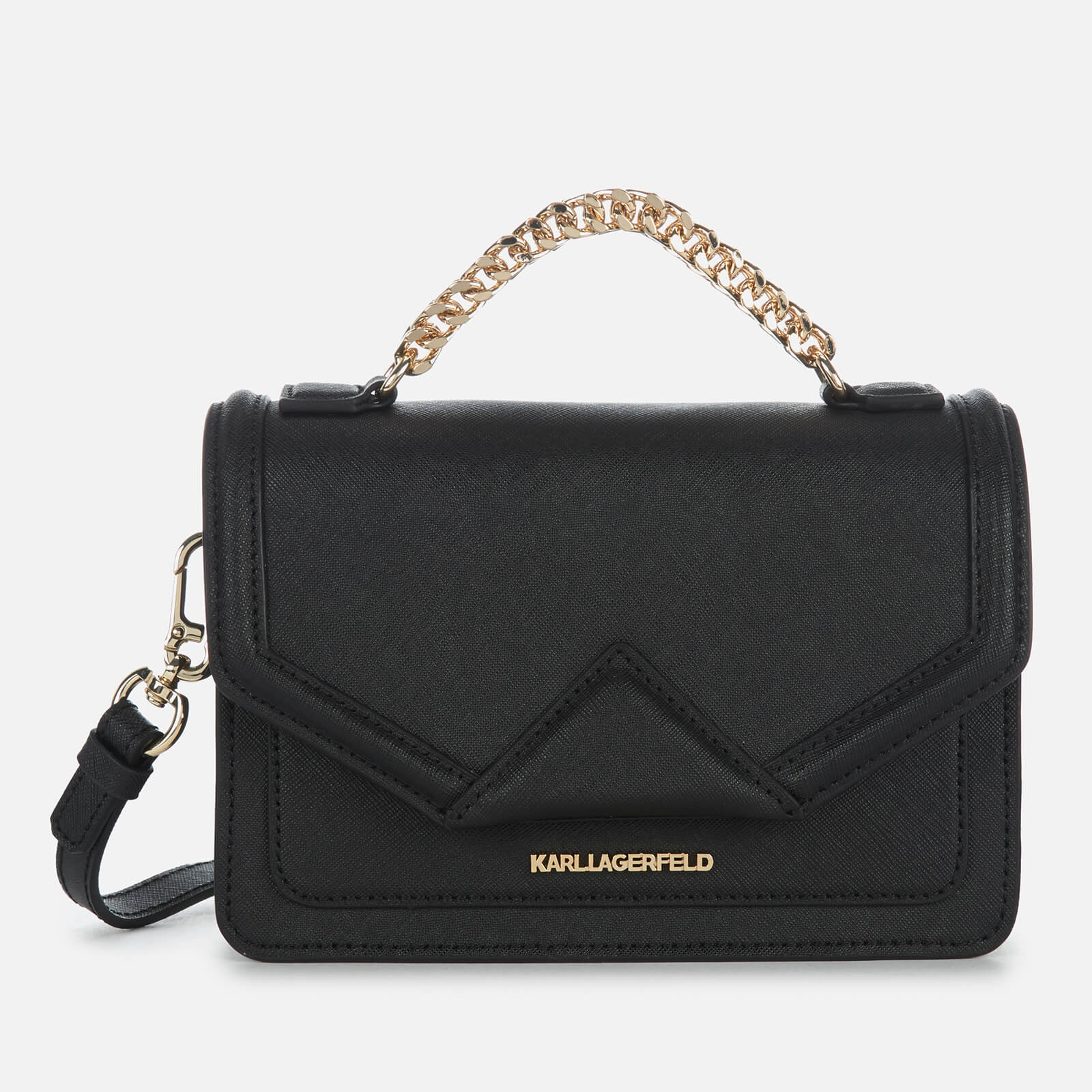 a16c28550 Karl Lagerfeld Women's K Klassik Medium Shoulder Bag - Black Womens  Accessories | TheHut.com