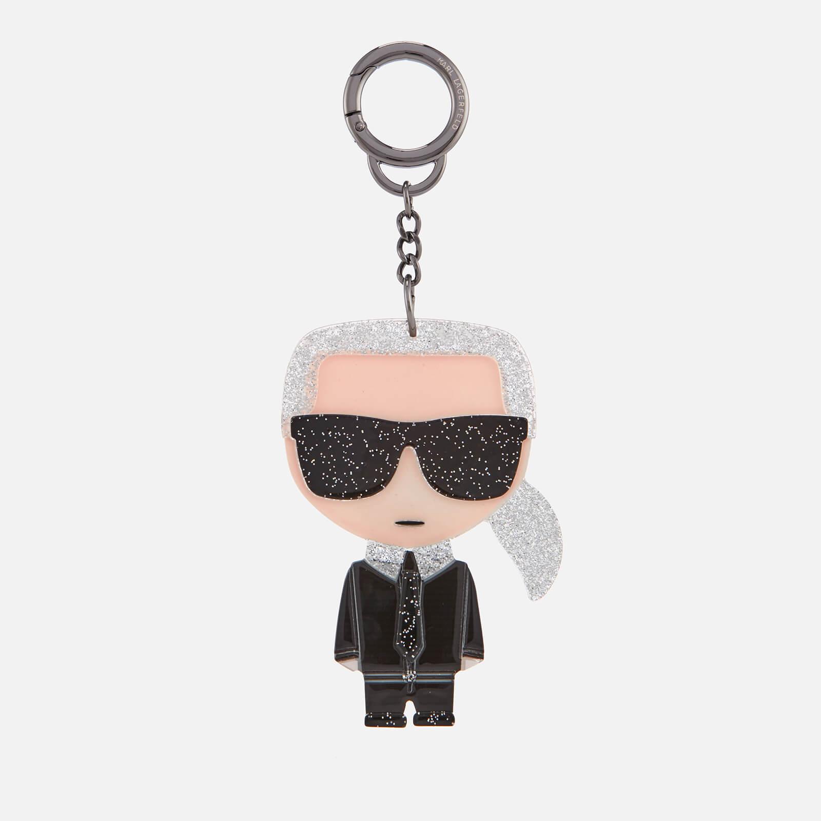 fd901c4d76a6 Karl Lagerfeld Women s K Ikonik Karl Plexi Keychain - Clear - Free UK  Delivery over £50