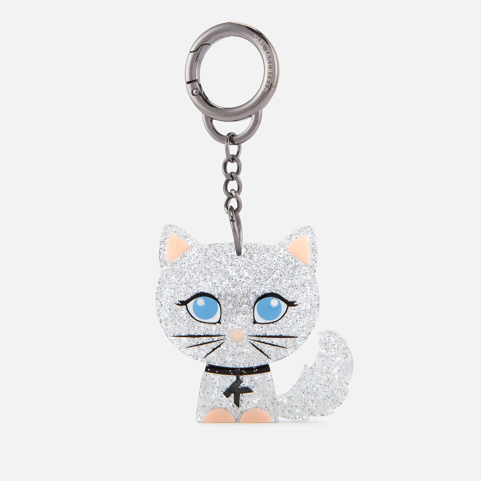 Karl Lagerfeld Women s K Choupette Plexi Keychain - Clear - Free UK  Delivery over £50 40b012a20