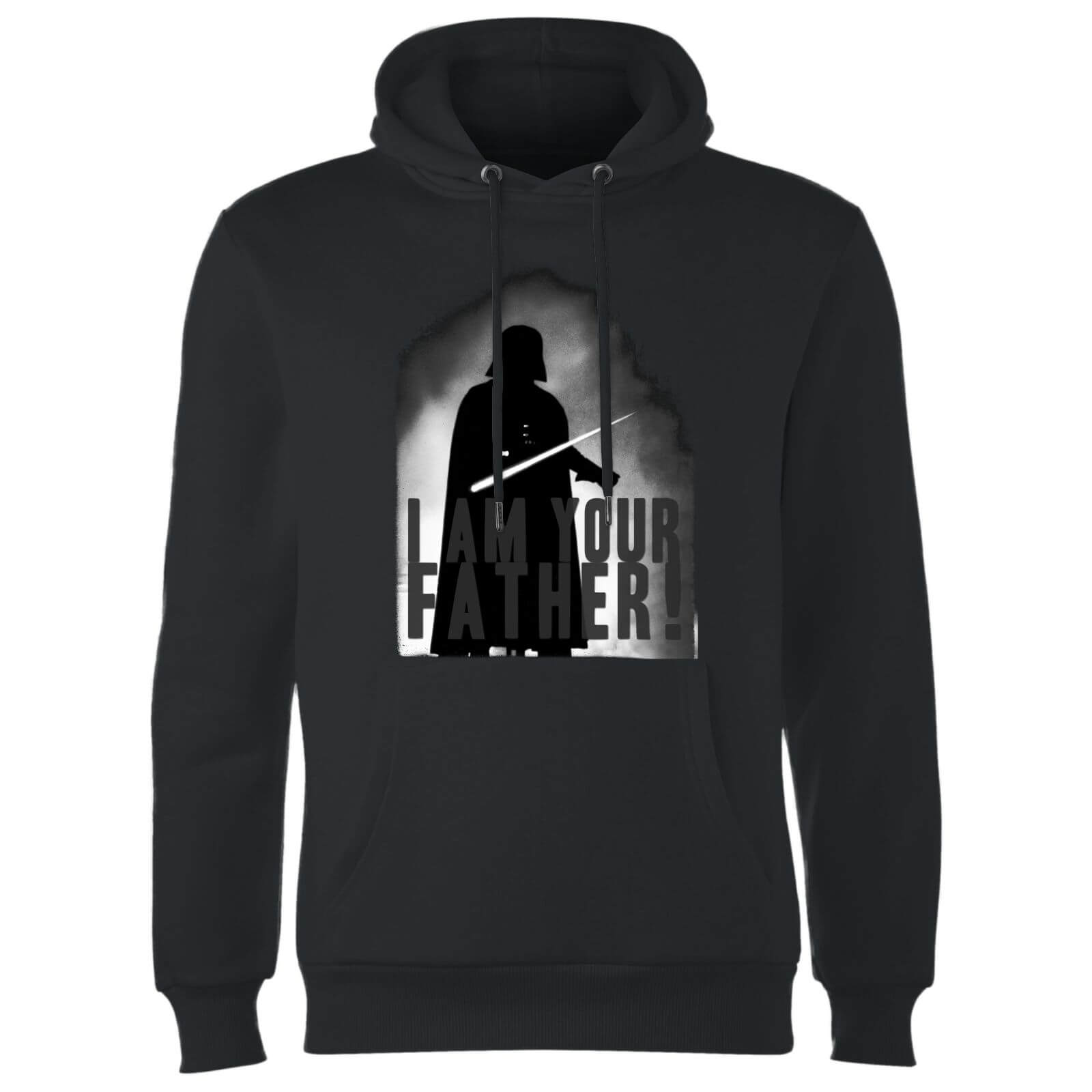08ecc82d Star Wars Darth Vader I Am Your Father Silhouette Hoodie - Black Clothing |  Zavvi