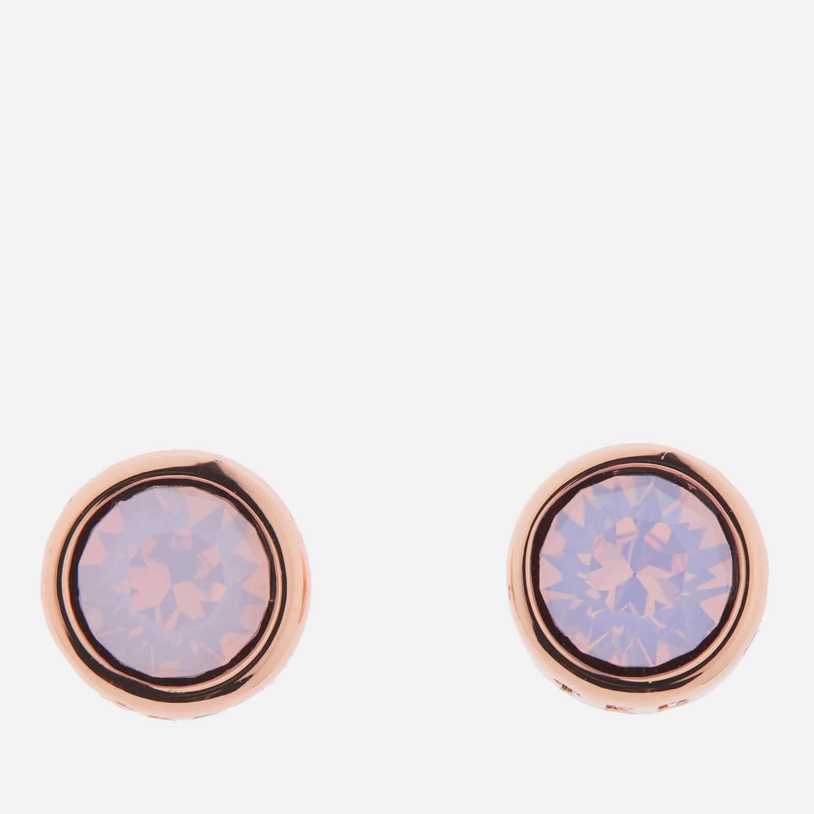a280d91a1 ... Ted Baker Women's Sinaa Swarovski Crystal Stud Earrings - Rose Gold/Rose  Water Opal -