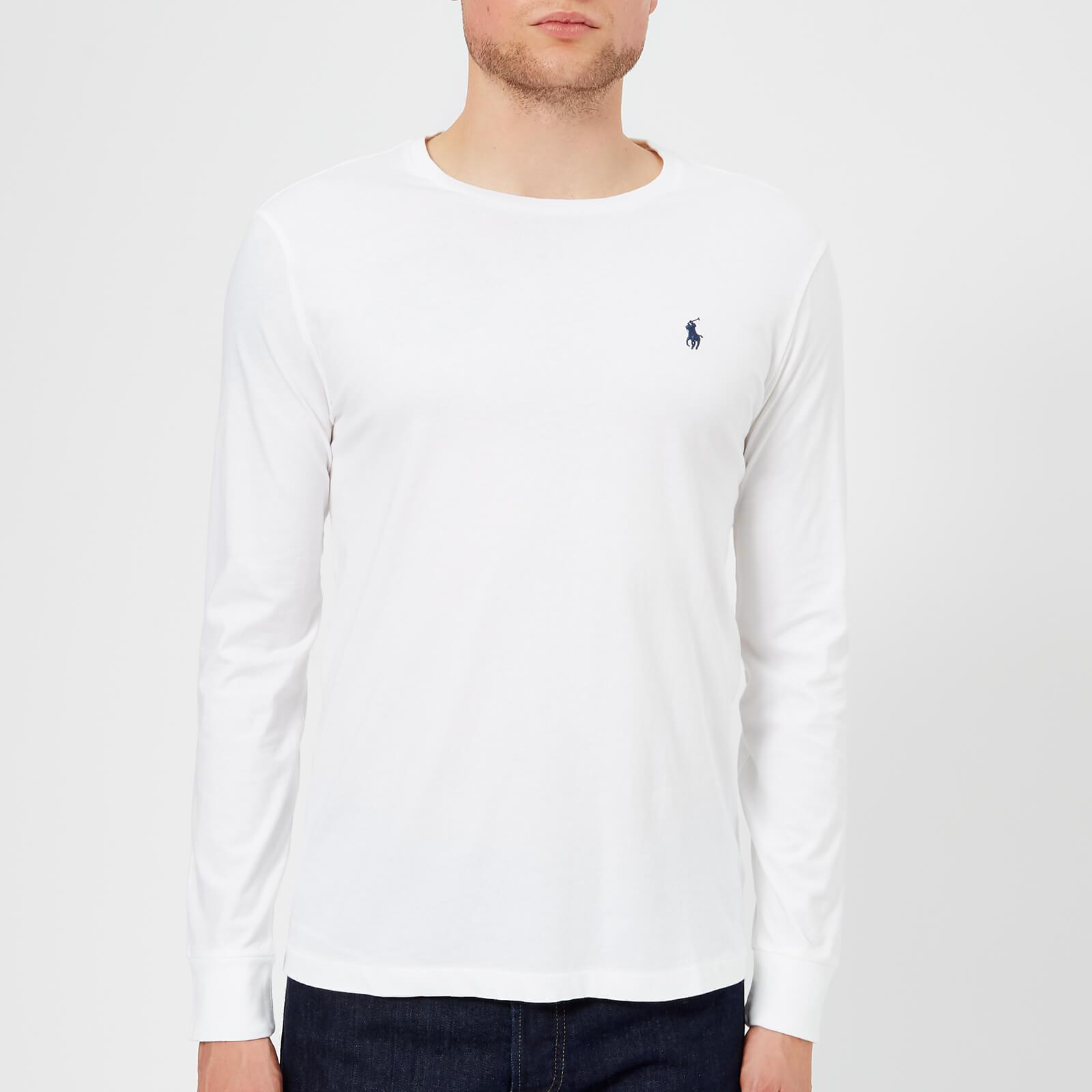 Shopping > polo ralph lauren long sleeve crew neck t shirt  