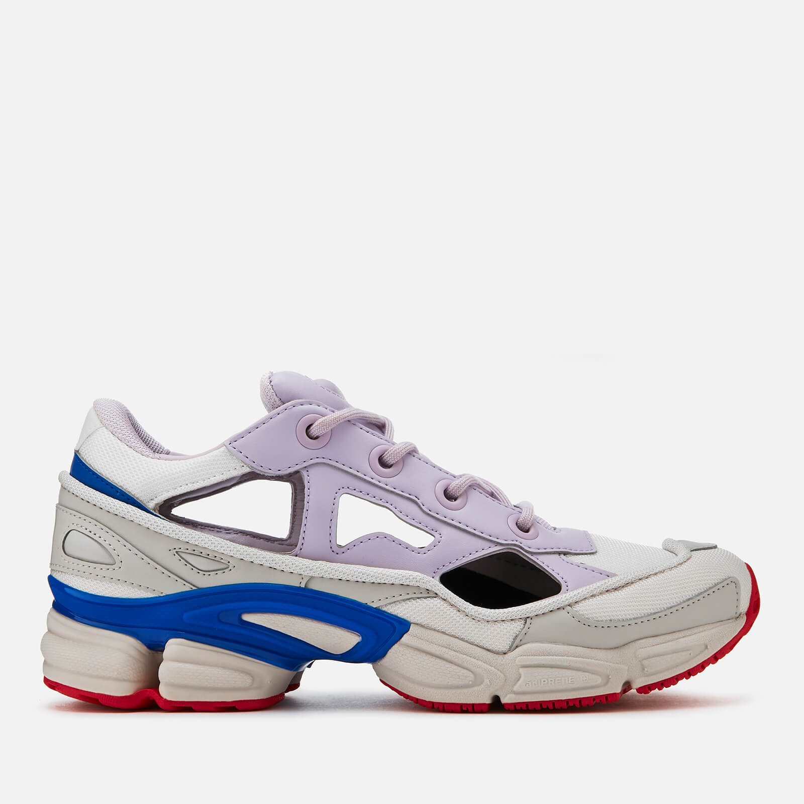 b65238b5eb0008 adidas by Raf Simons Men s Replicant Ozweego Trainers - C Brown White -  Free UK Delivery over £50