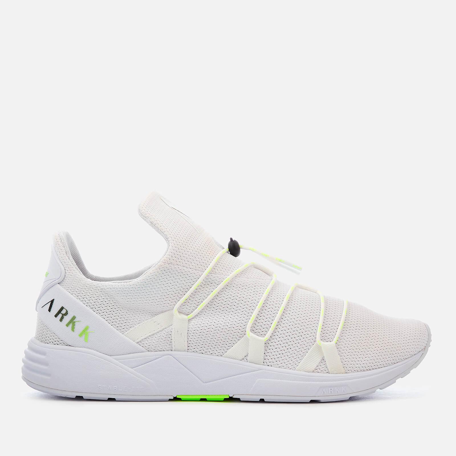 c5af4542b ARKK Copenhagen Men s Scorpitex Mesh Trainers - White Luminous Green Mens  Footwear