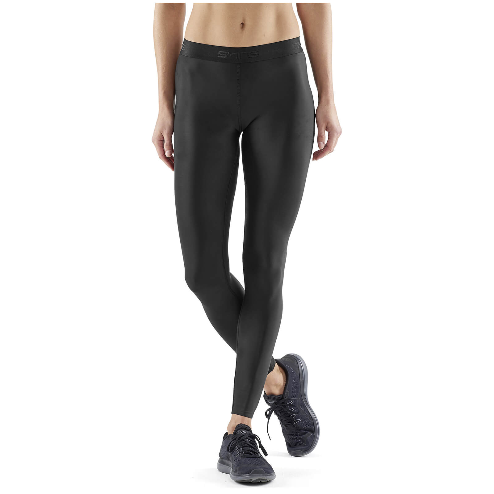 2ef55295cc5034 Skins Women's DNAmic Sport Recovery Tights - Black | ProBikeKit Canada