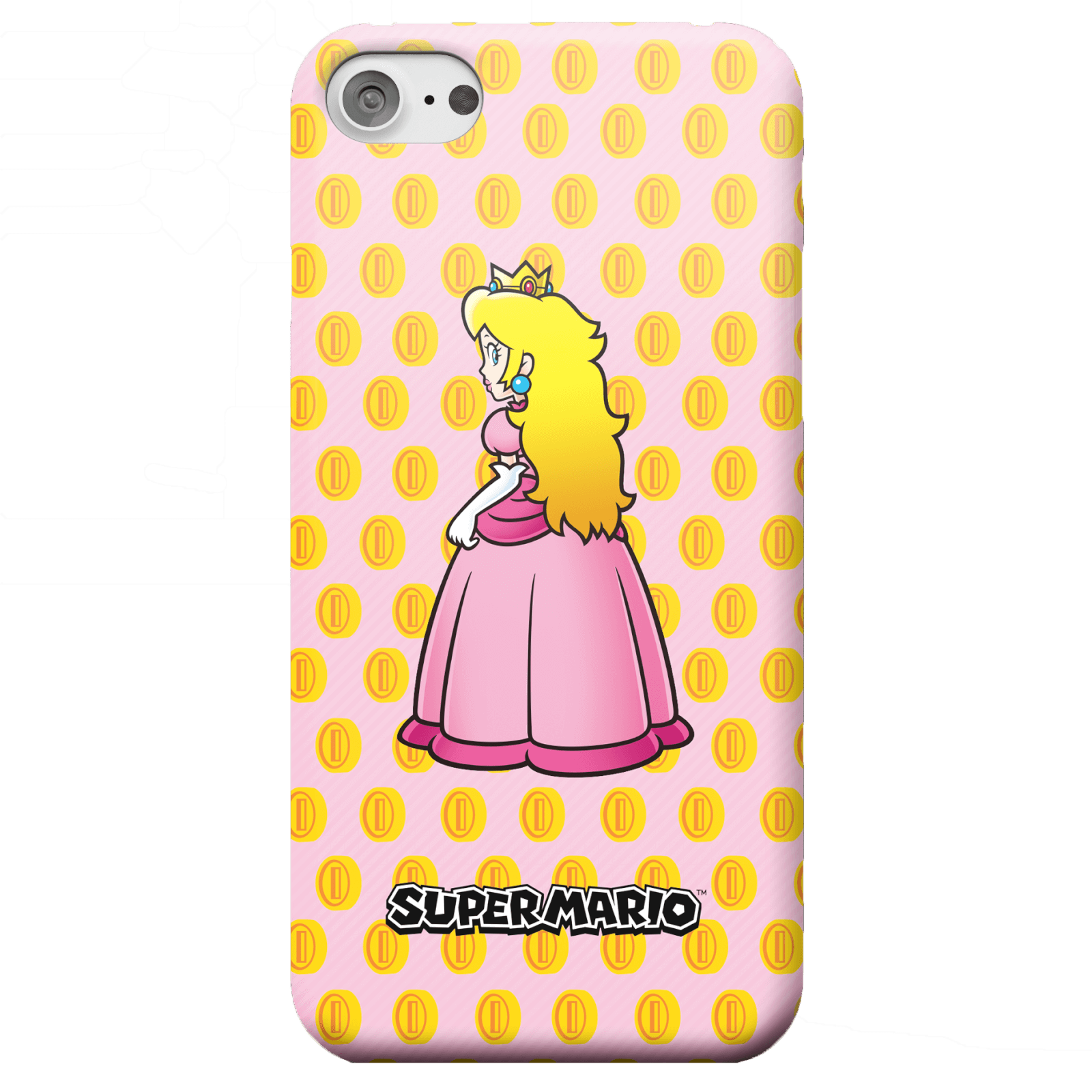 Nintendo Super Mario Princess Peach Peeking Phone Case