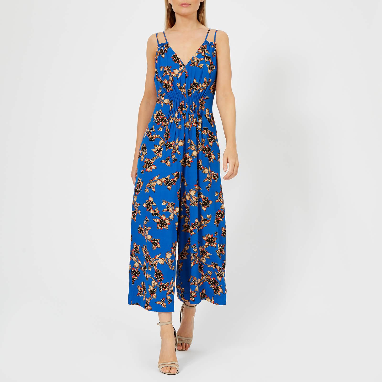 957937b940 Whistles Women s Armelle Capri Print Jumpsuit - Blue Multi Womens Clothing