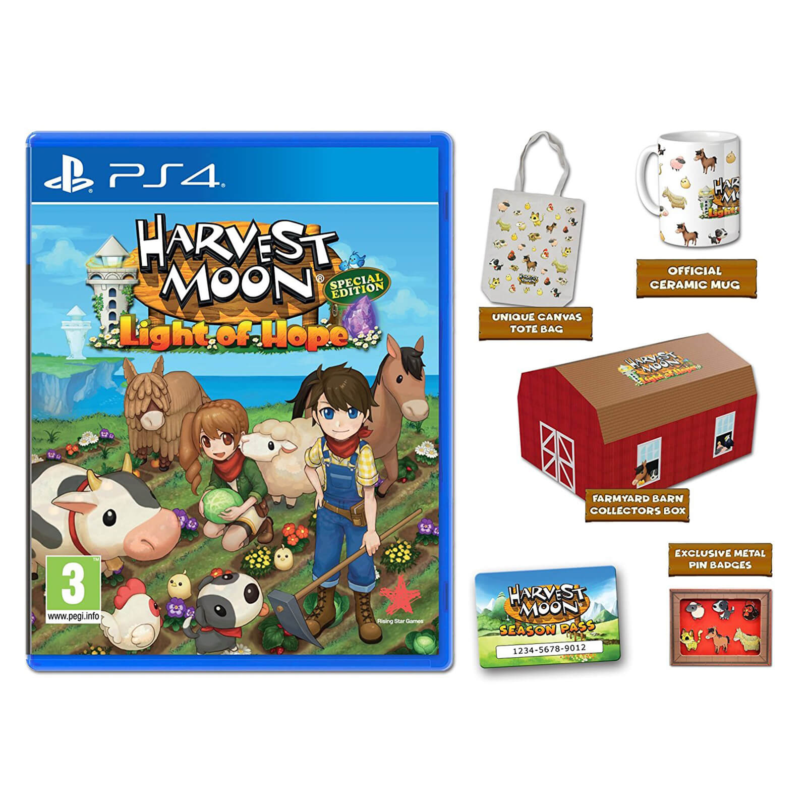 Harvest Moon: Light of Hope Collector