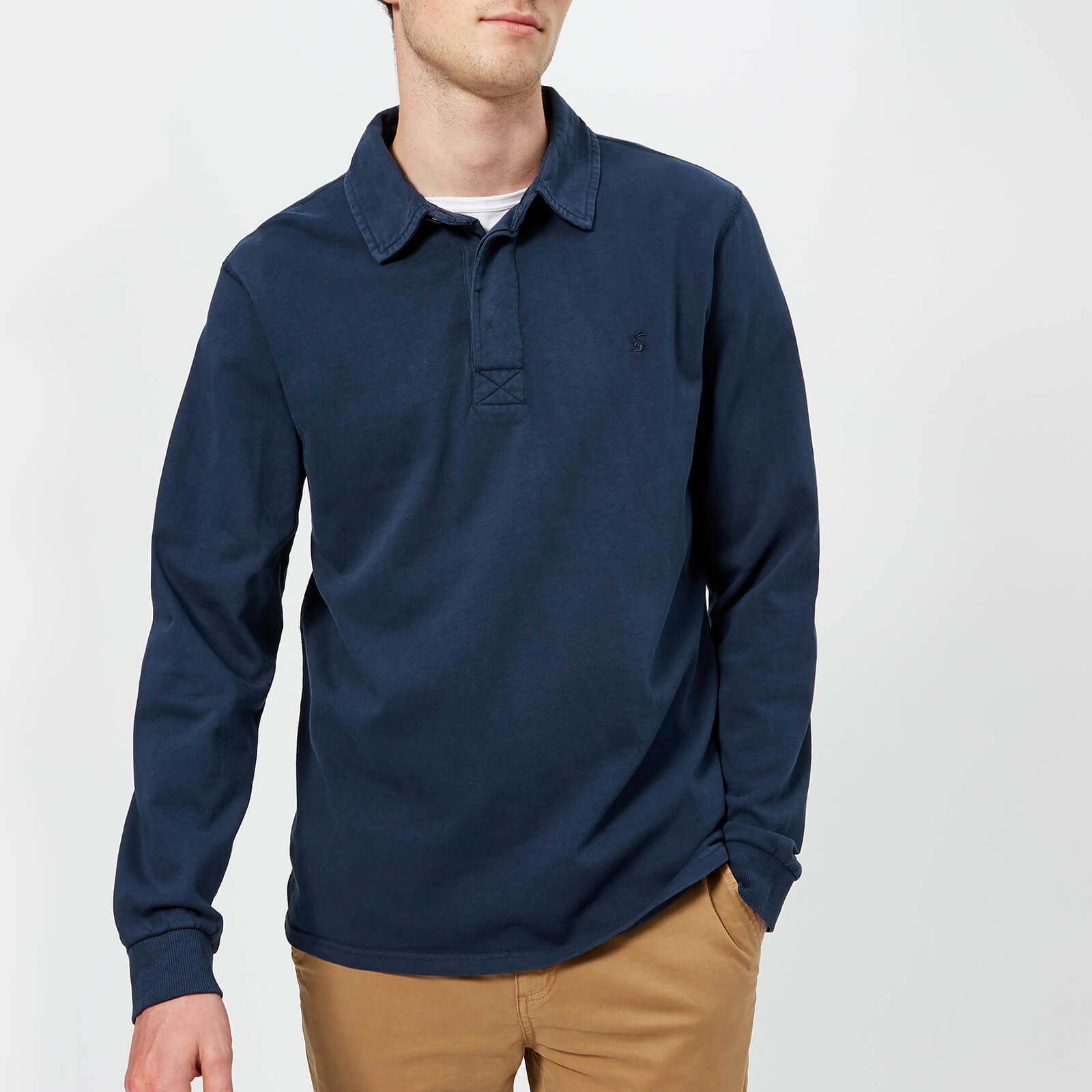 03365fe0549 Joules Men's Parkside Rugby Shirt - French Navy Mens Clothing   TheHut.com