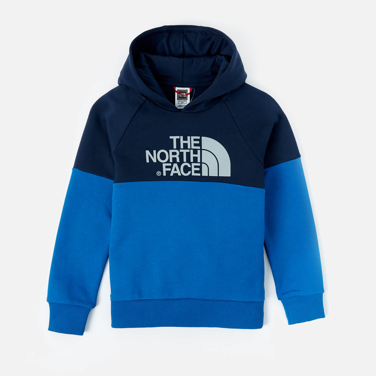 75edad66708a The North Face Boys  Youth Drew Peak Raglan Hoody - Cosmic Blue Clothing