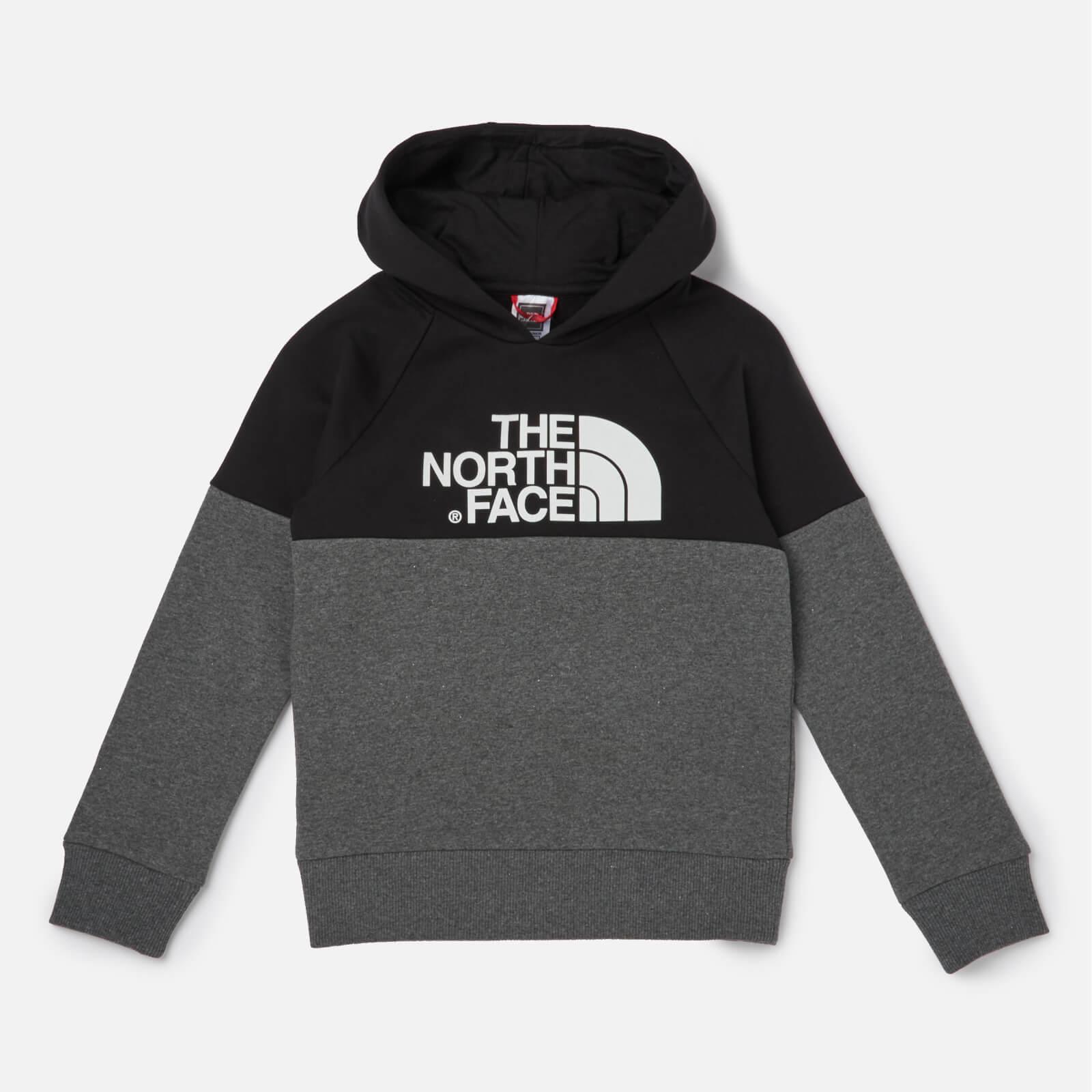 1f9e1af9d The North Face Boys' Youth Drew Peak Raglan Hoody - TNF Black