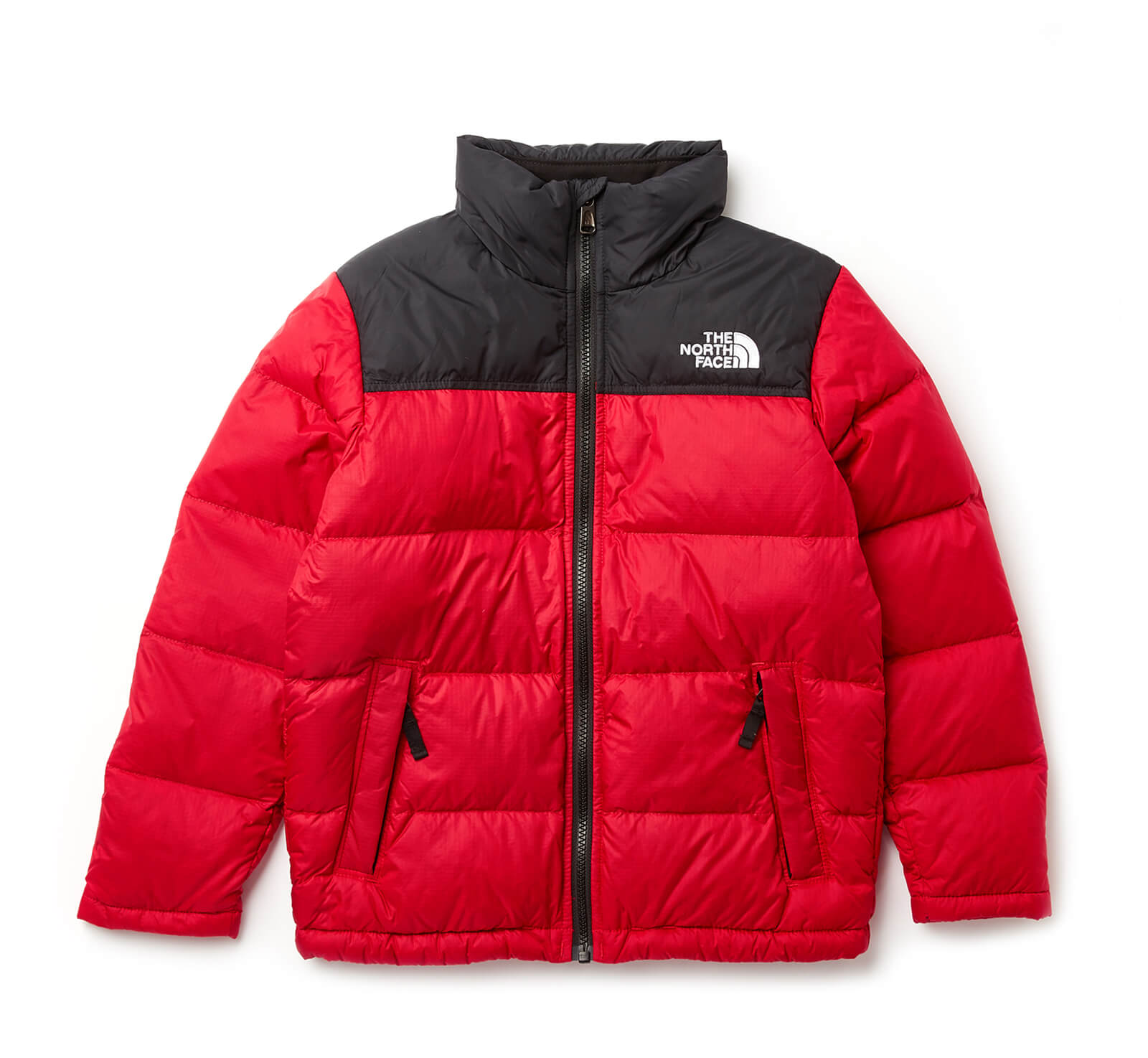 bc5ed35cb445 The North Face Boys  Nuptse Down Jacket - NF Red Clothing
