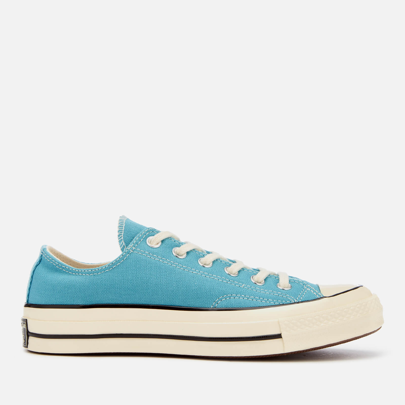 e1155bed474e Converse Chuck Taylor All Star  70 Ox Trainers - Shoreline Blue Black Egret  - Free UK Delivery over £50