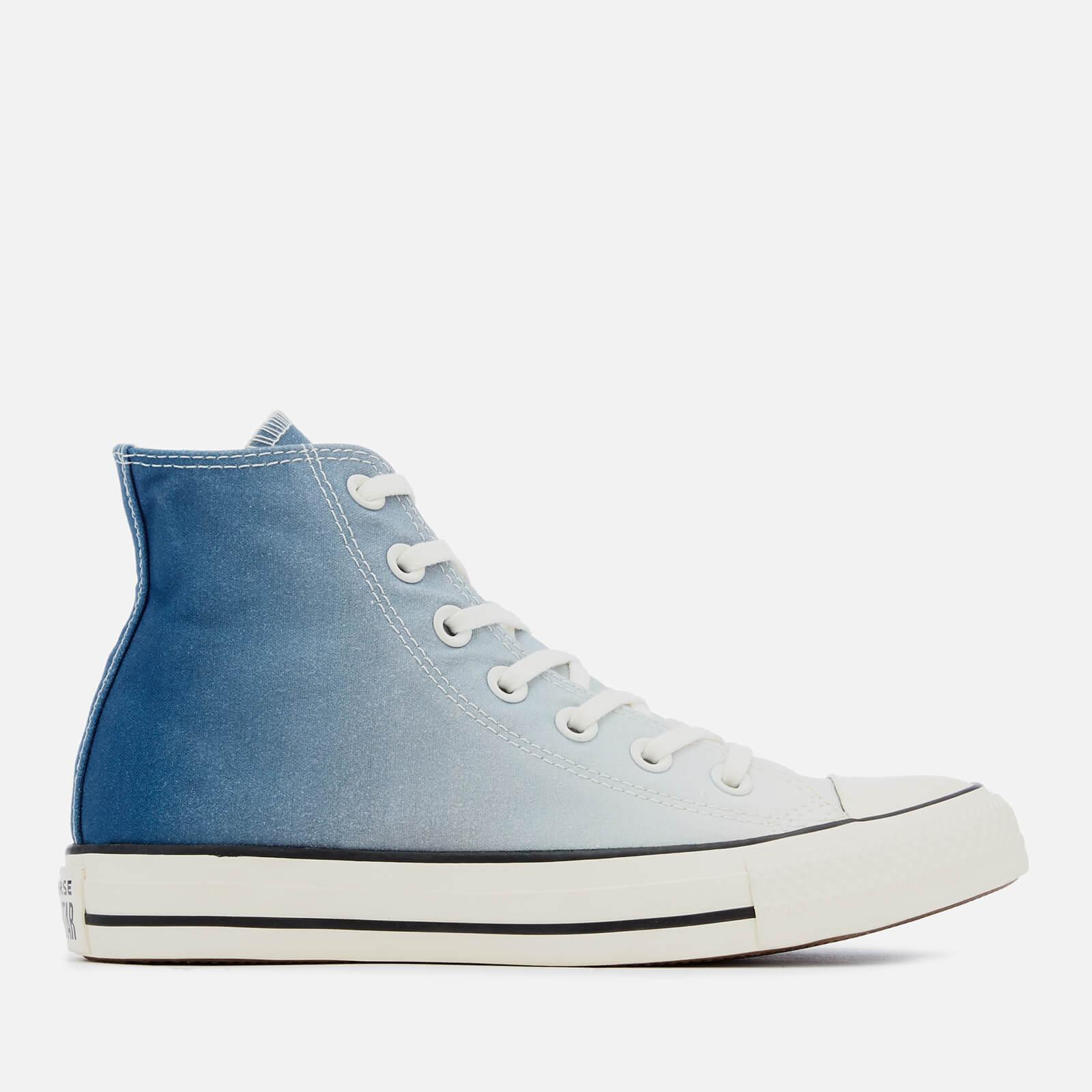 b08f6ebf41bd57 Converse Women s Chuck Taylor All Star Hi-Top Trainers - Mason Blue Egret  Womens Footwear
