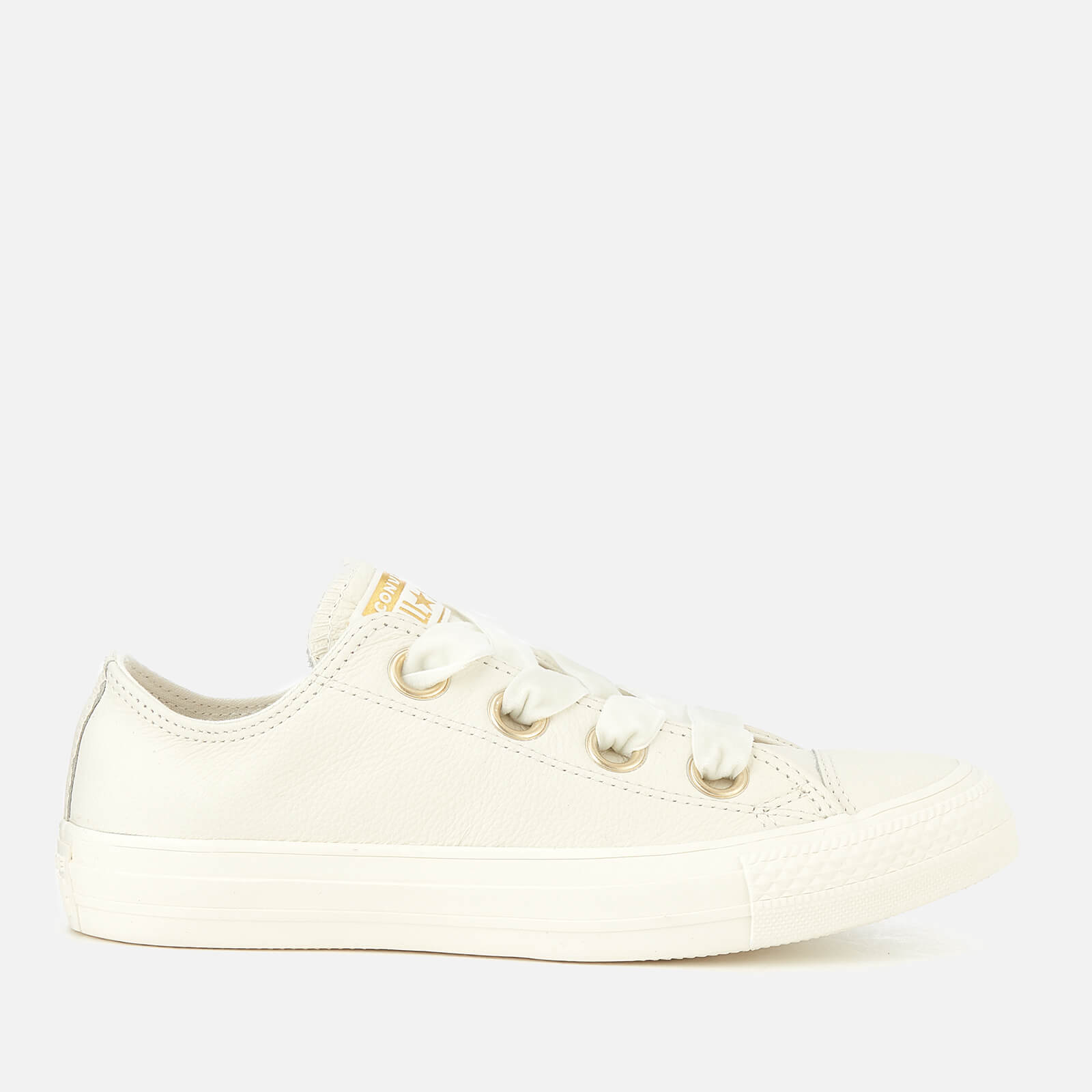e4a0c88e7fe5 Converse Women s Chuck Taylor All Star Big Eyelets Ox Trainers - Vintage  White Womens Footwear