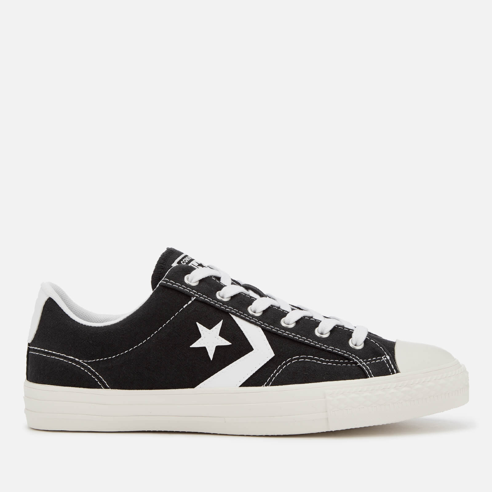 02fd05c1790256 Converse Men s Star Player Ox Trainers - Black White - Free UK ...