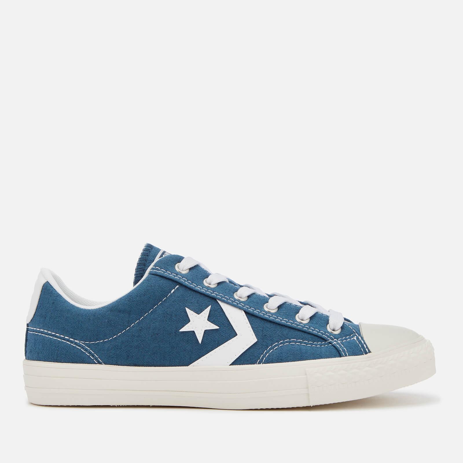 590dbd1622f3 Converse Men s Star Player Ox Trainers - Mason Blue White Mens Footwear