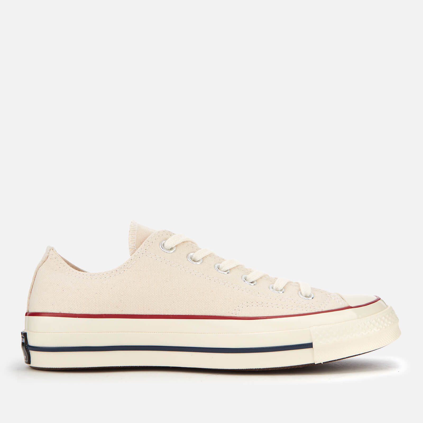 6ce62604844fc1 Converse Chuck Taylor All Star 70 Ox Trainers - Parchment Garnet Egret -  Free UK Delivery over £50