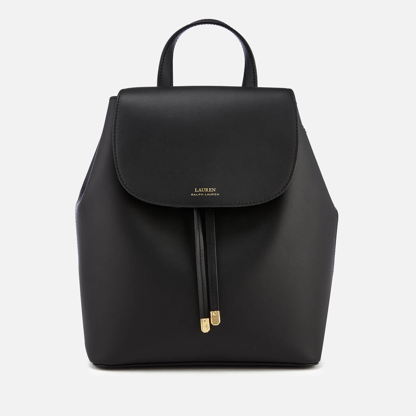 4d5829b76c Lauren Ralph Lauren Women's Dryden Flap Medium Backpack - Black/Crimson