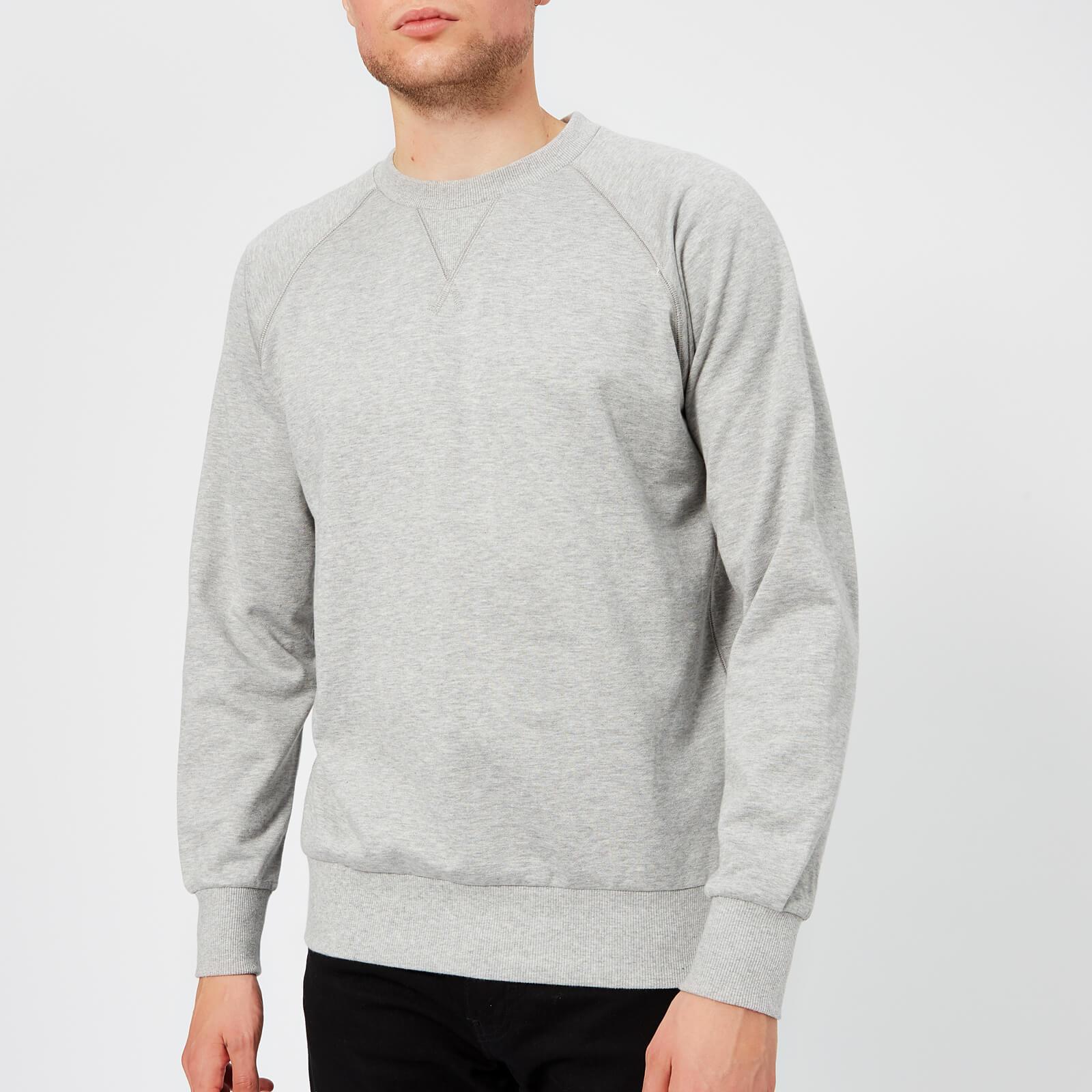 Adidas Y 3 Men Classic Sweater (gray medium grey heather)