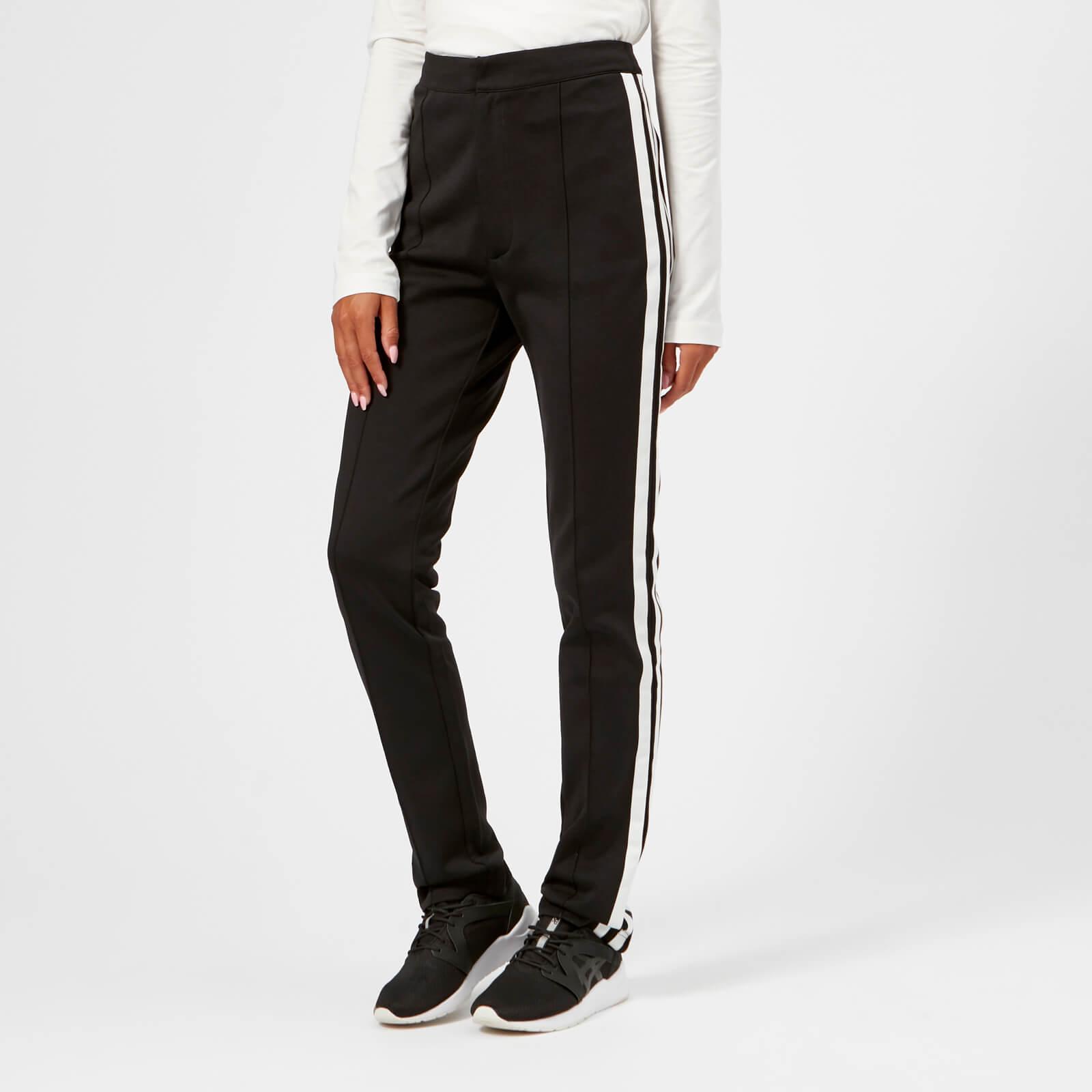 16c88cb1ae Y-3 Women's Matt Track High Waist Pants - Black - Free UK Delivery over £50