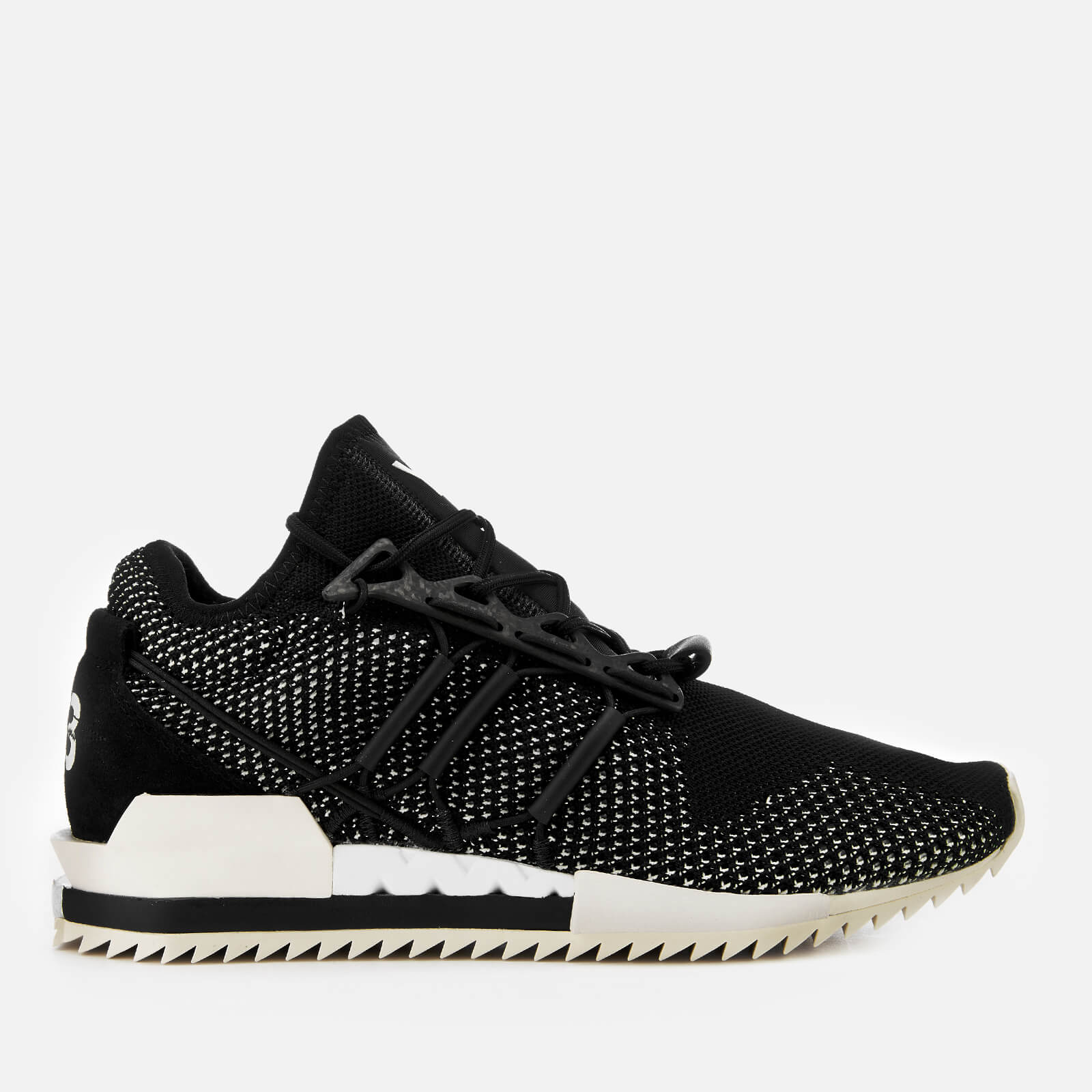 sale retailer b15db 9a860 Y-3 Men s Harigane Trainers - Black Y3 - Free UK Delivery over £50