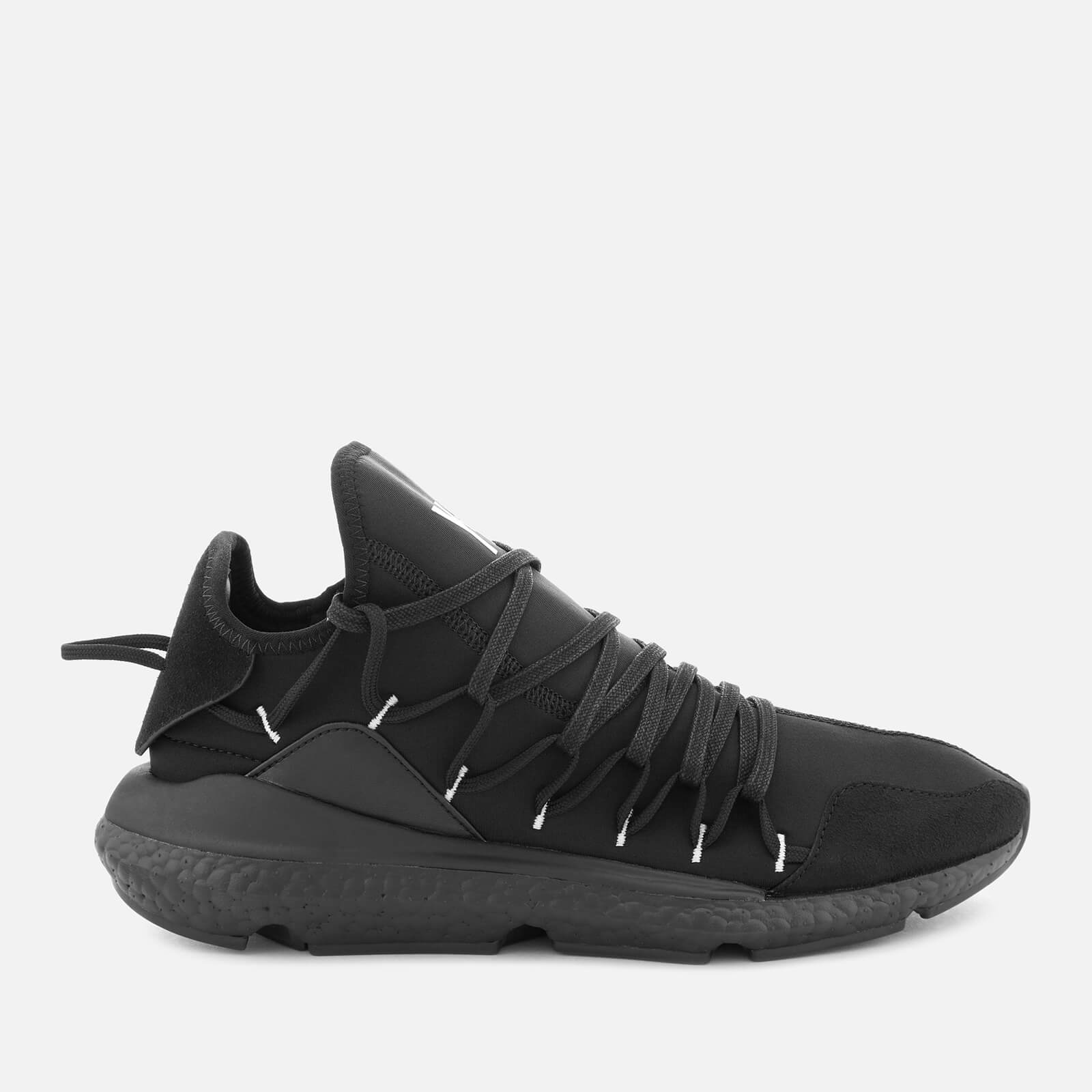 b0619faab6656 Y-3 Men s Kusari Trainers - Black Y-3 - Free UK Delivery over £50