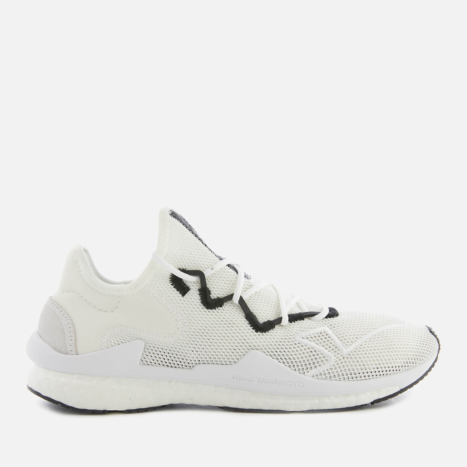 check out 0575f 4c213 Y-3 Men s Adizero Runner Trainers - White - Free UK Delivery over £50