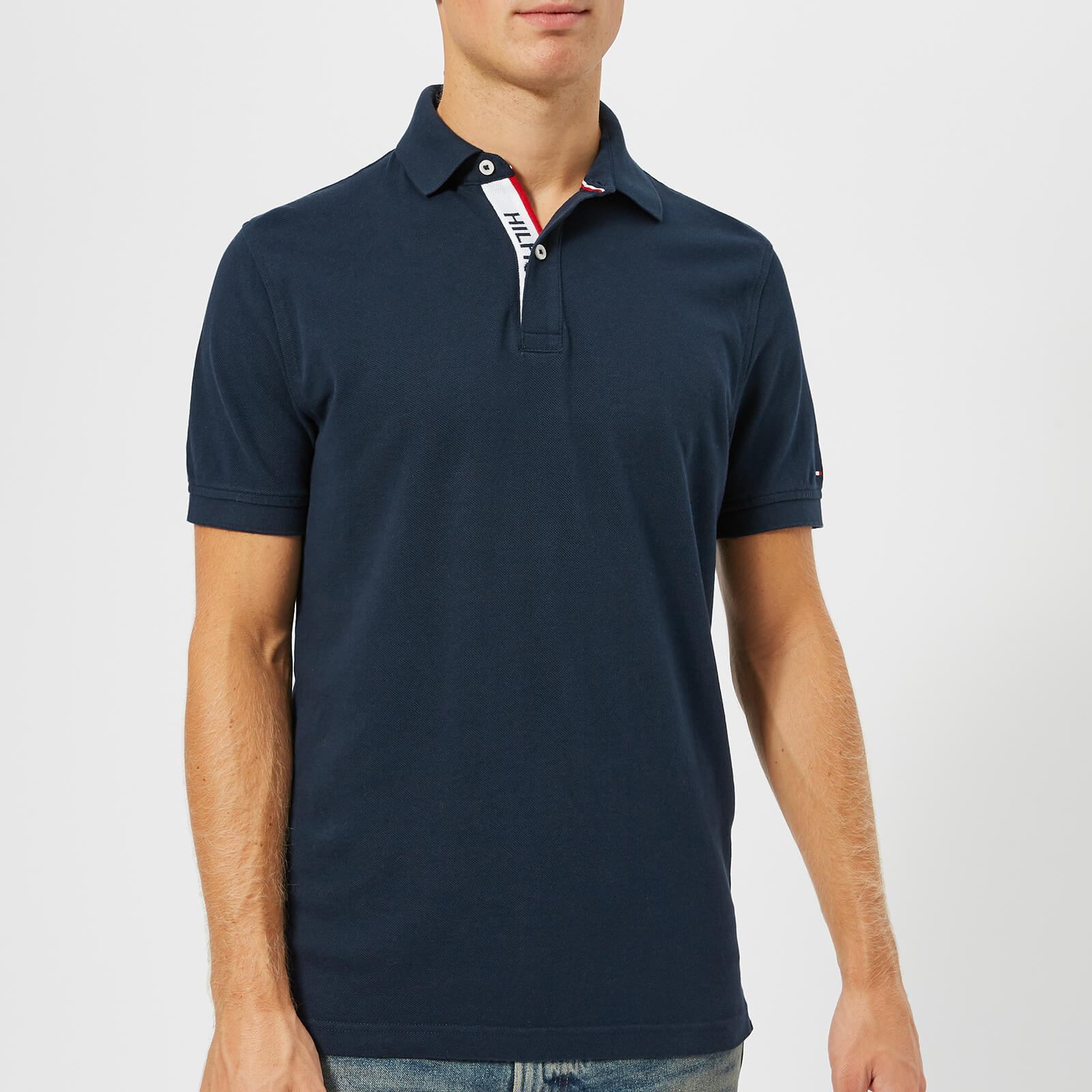38b2cdfe3 Tommy Hilfiger Men s WCC Hilfiger Polo Shirt - Sky Captain Clothing ...