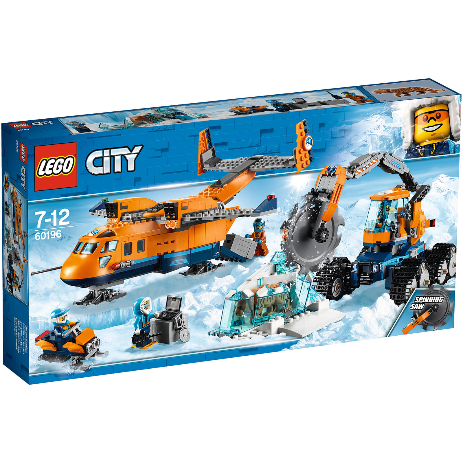 City Arctic Expedition - Arctic Supply Plane (60196)