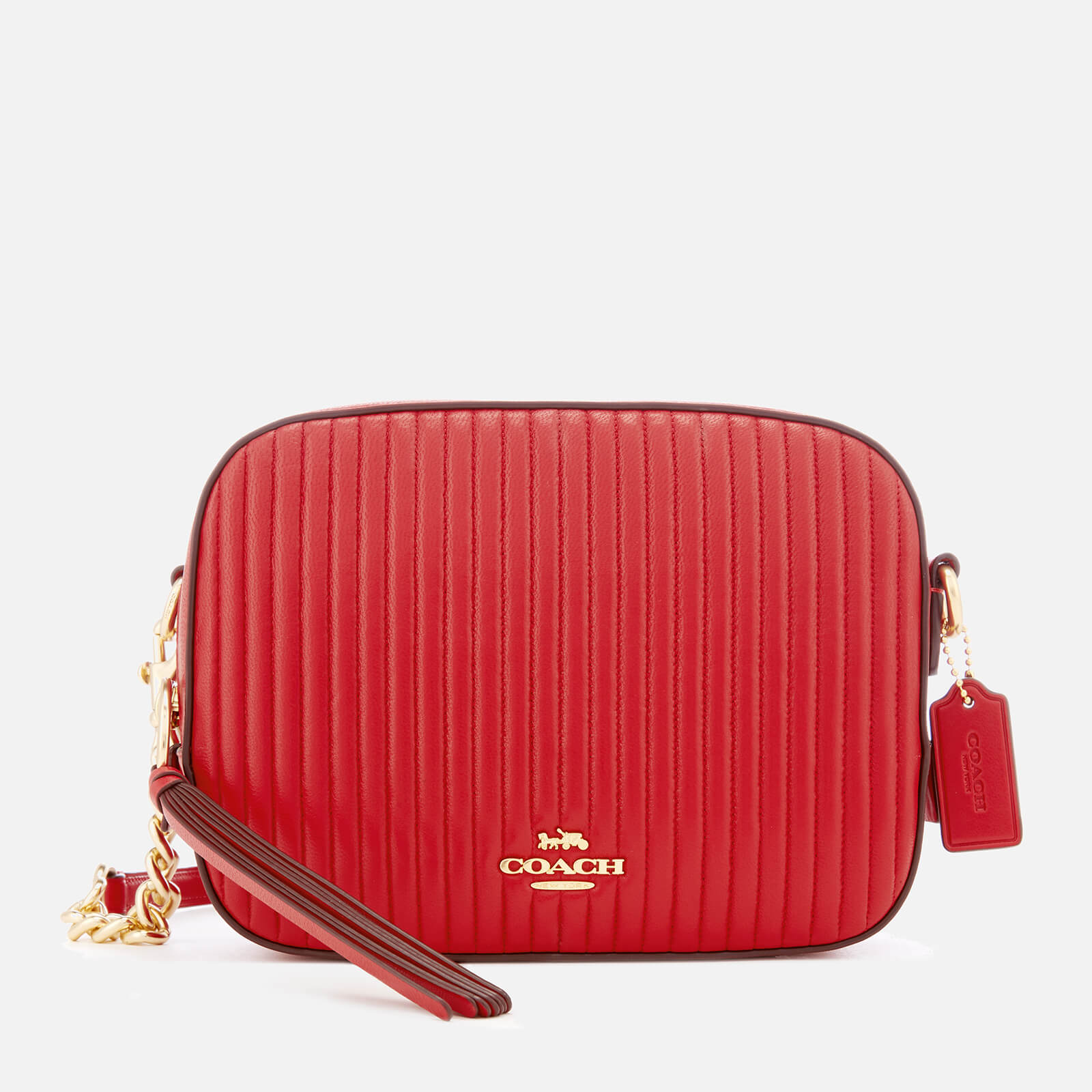 29324607ca97 Coach Women s Quilted Leather Camera Bag - Jasper - Free UK Delivery over  £50